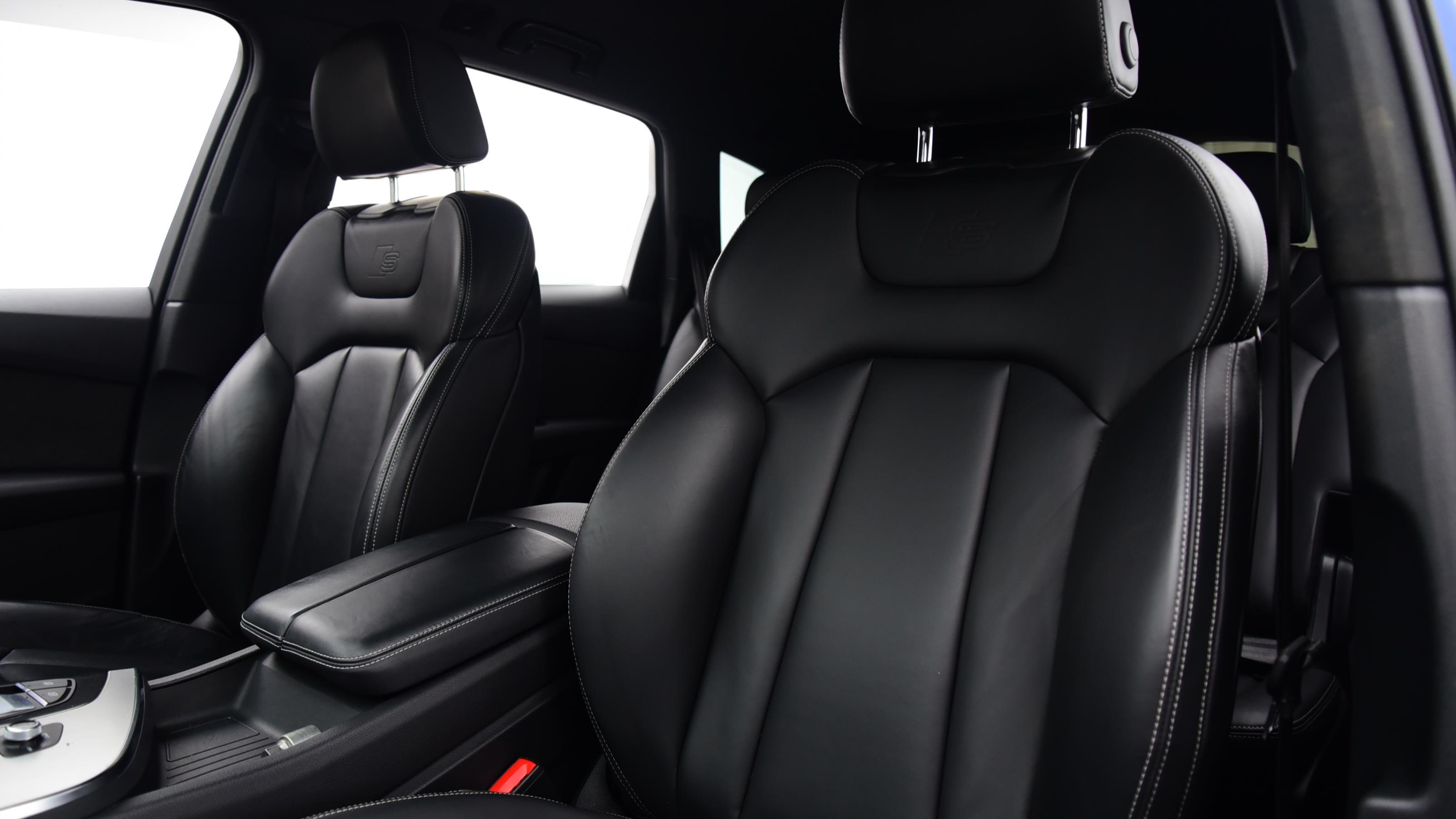 Used 2016 Audi Q7 3.0 TDI Quattro S Line 5dr Tip Auto BLUE at Saxton4x4
