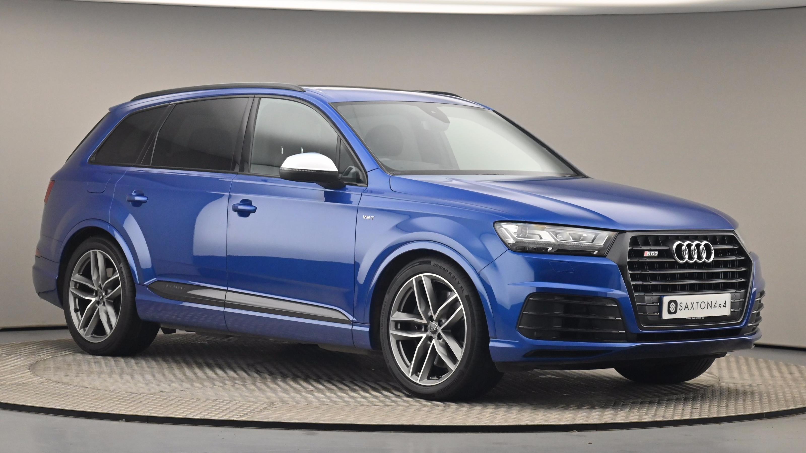 Used 2017 Audi Q7 SQ7 Quattro 5dr Tip Auto BLUE at Saxton4x4
