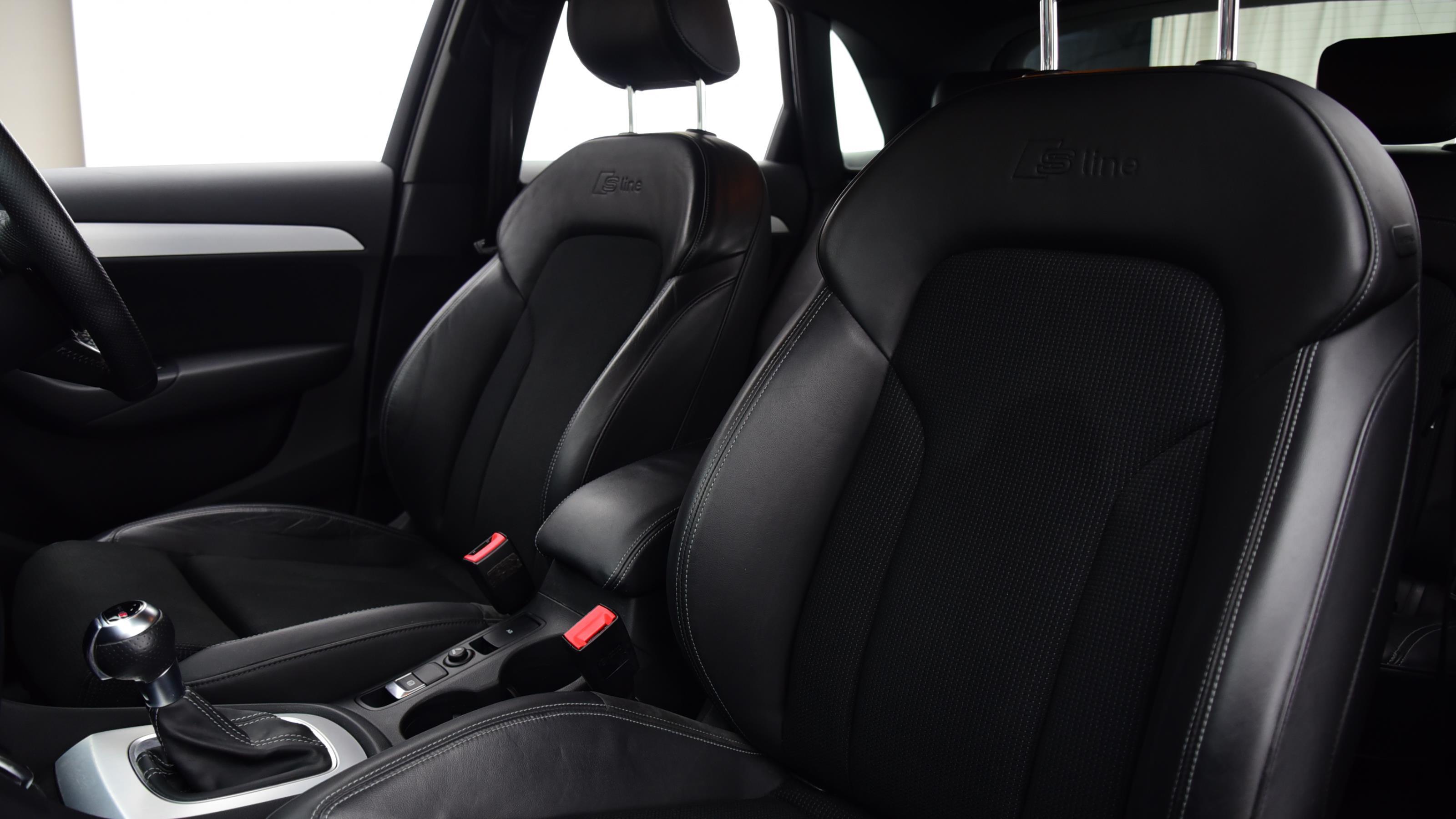 Used 14 Audi Q3 2.0 TDI [177] Quattro S Line 5dr S Tronic BROWN at Saxton4x4
