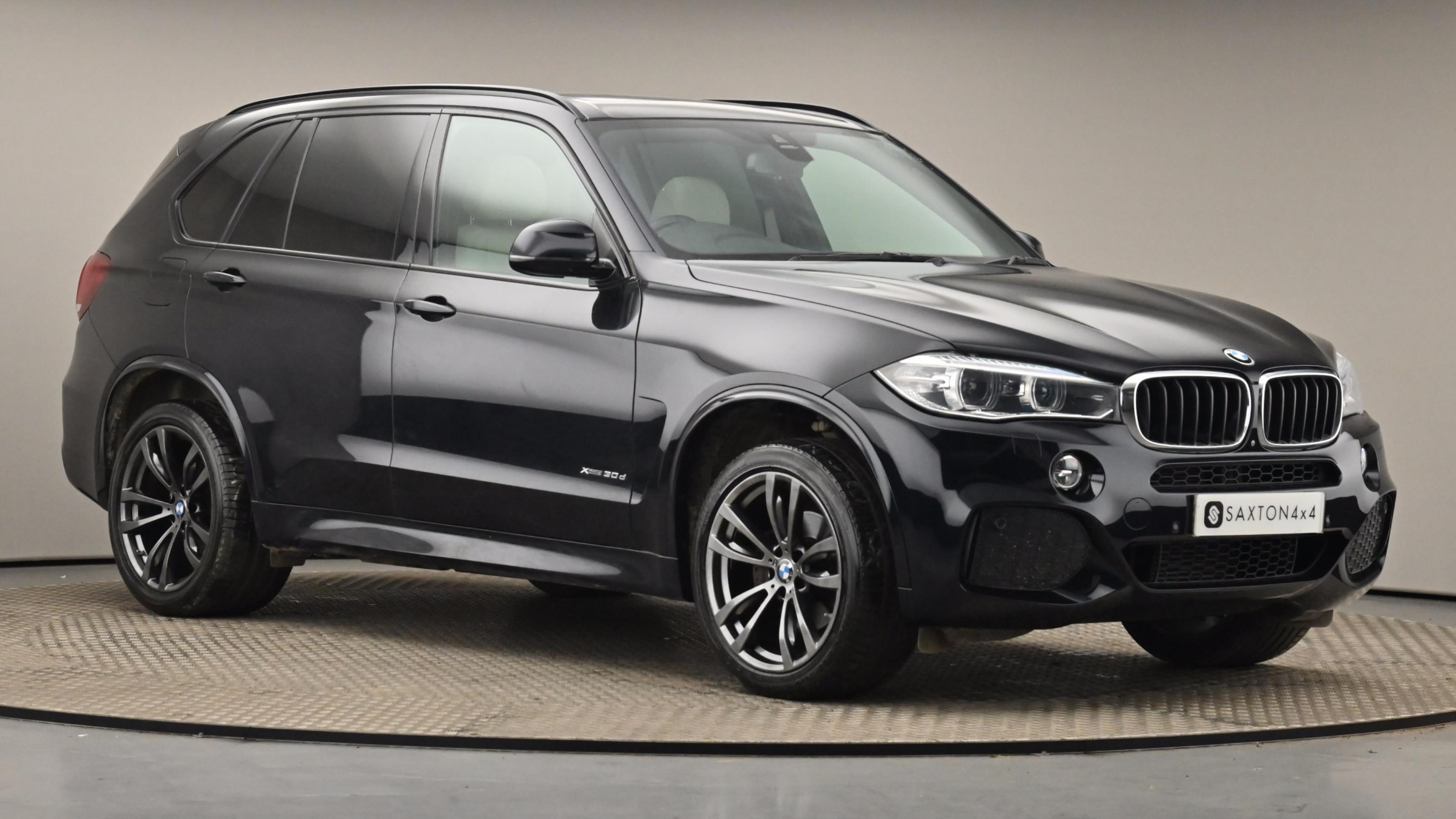Used 2016 BMW X5 xDrive30d M Sport 5dr Auto [7 Seat] BLACK at Saxton4x4