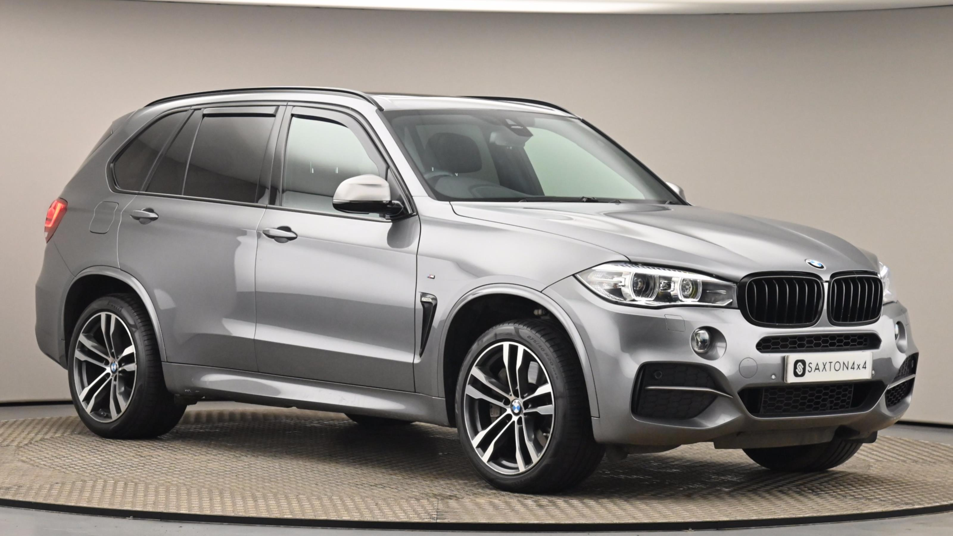 Used 2016 BMW X5 xDrive M50d 5dr Auto [7 Seat] GREY at Saxton4x4
