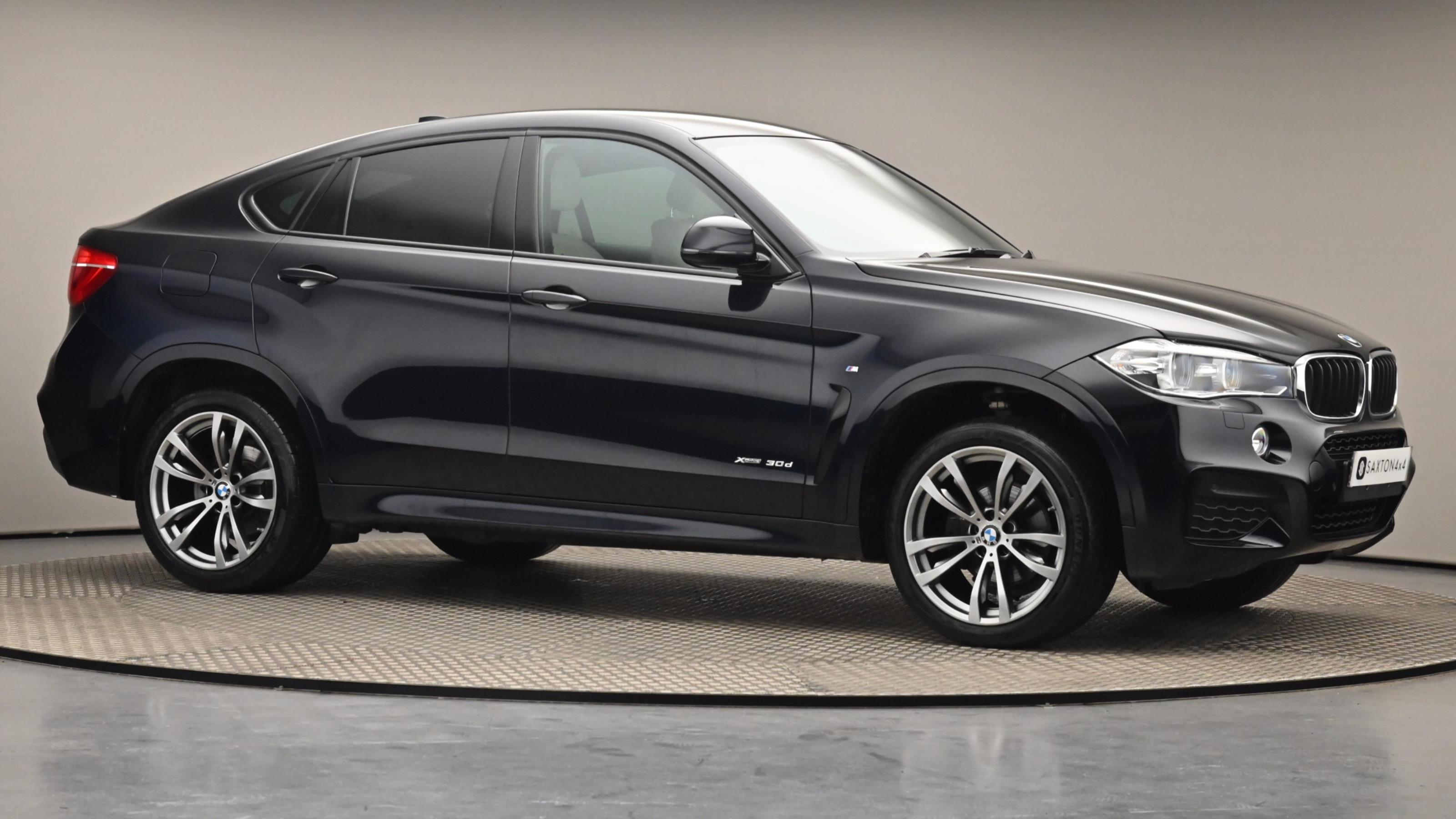 Used 2017 BMW X6 xDrive30d M Sport 5dr Step Auto BLACK at Saxton4x4