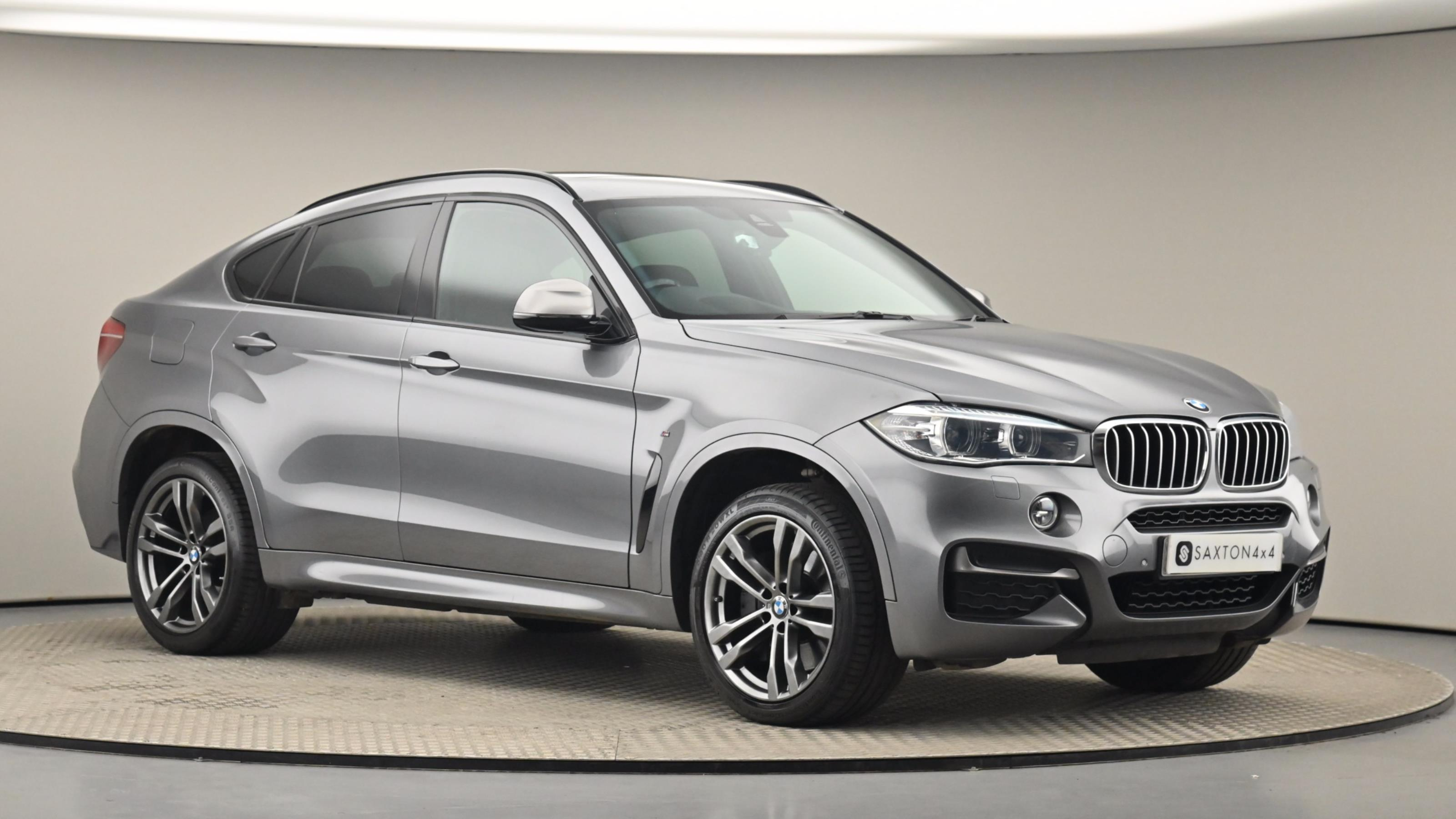 Used 2016 BMW X6 xDrive M50d 5dr Auto GREY at Saxton4x4