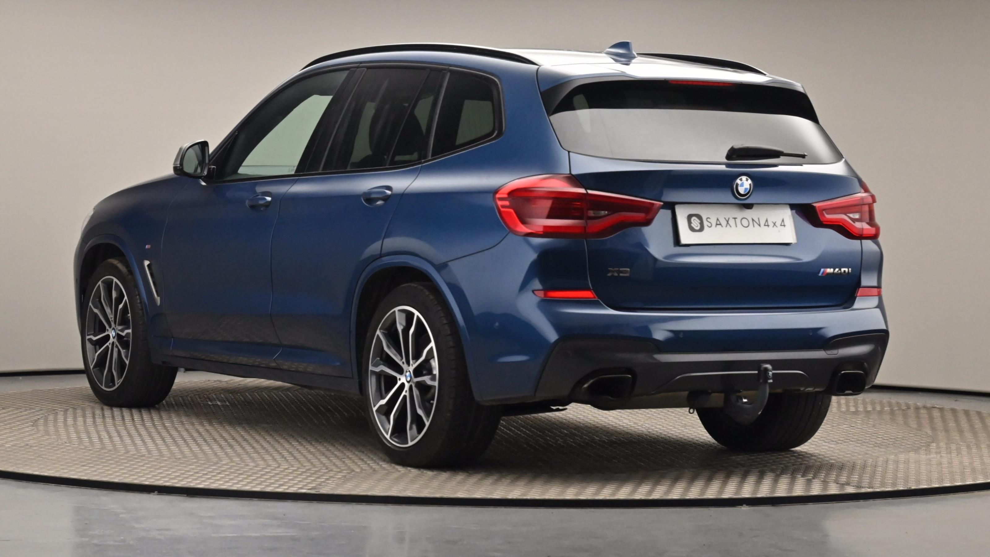 Used 2019 BMW X3 xDrive M40i [354] 5dr Step Auto BLUE at Saxton4x4