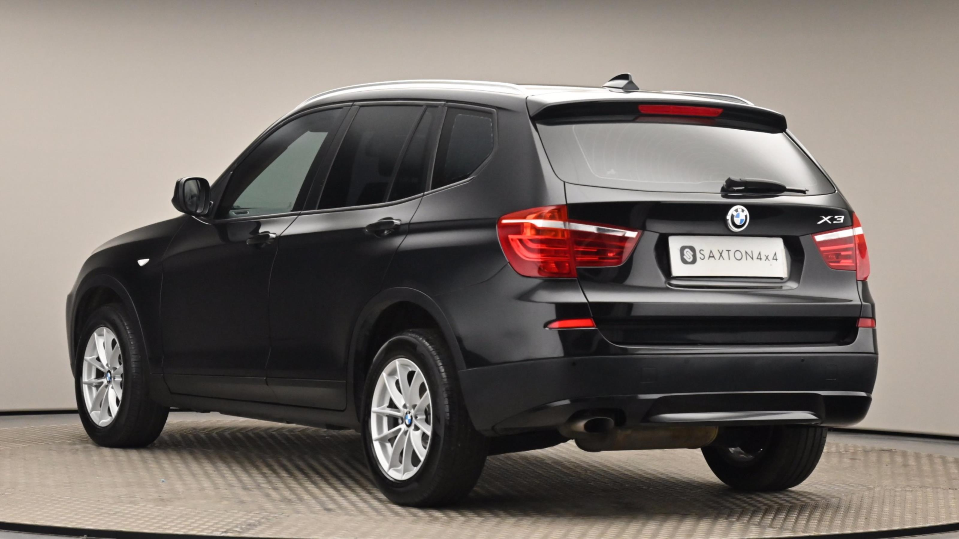 Used 12 BMW X3 xDrive20d SE 5dr Step Auto [Business Media] BLACK at Saxton4x4