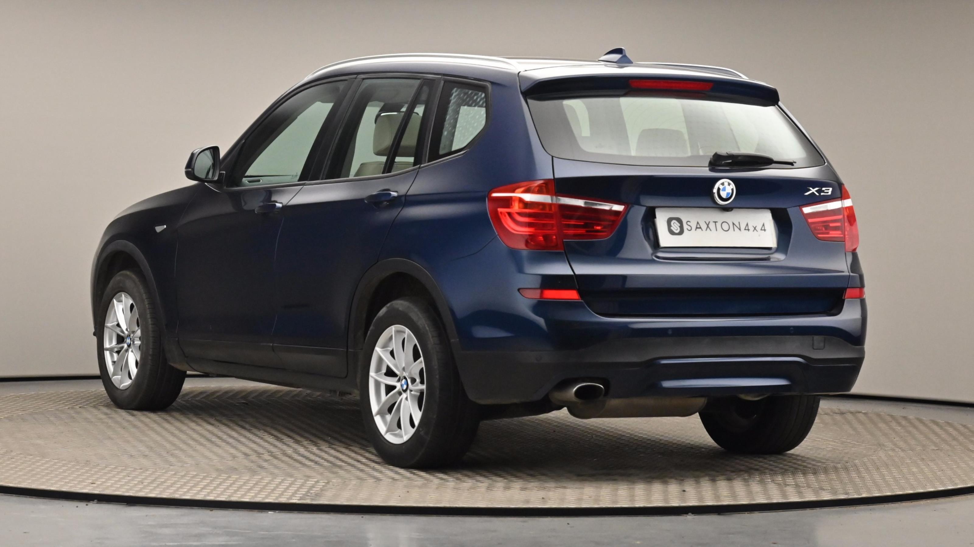 Used 15 BMW X3 xDrive20d SE 5dr Step Auto BLUE at Saxton4x4