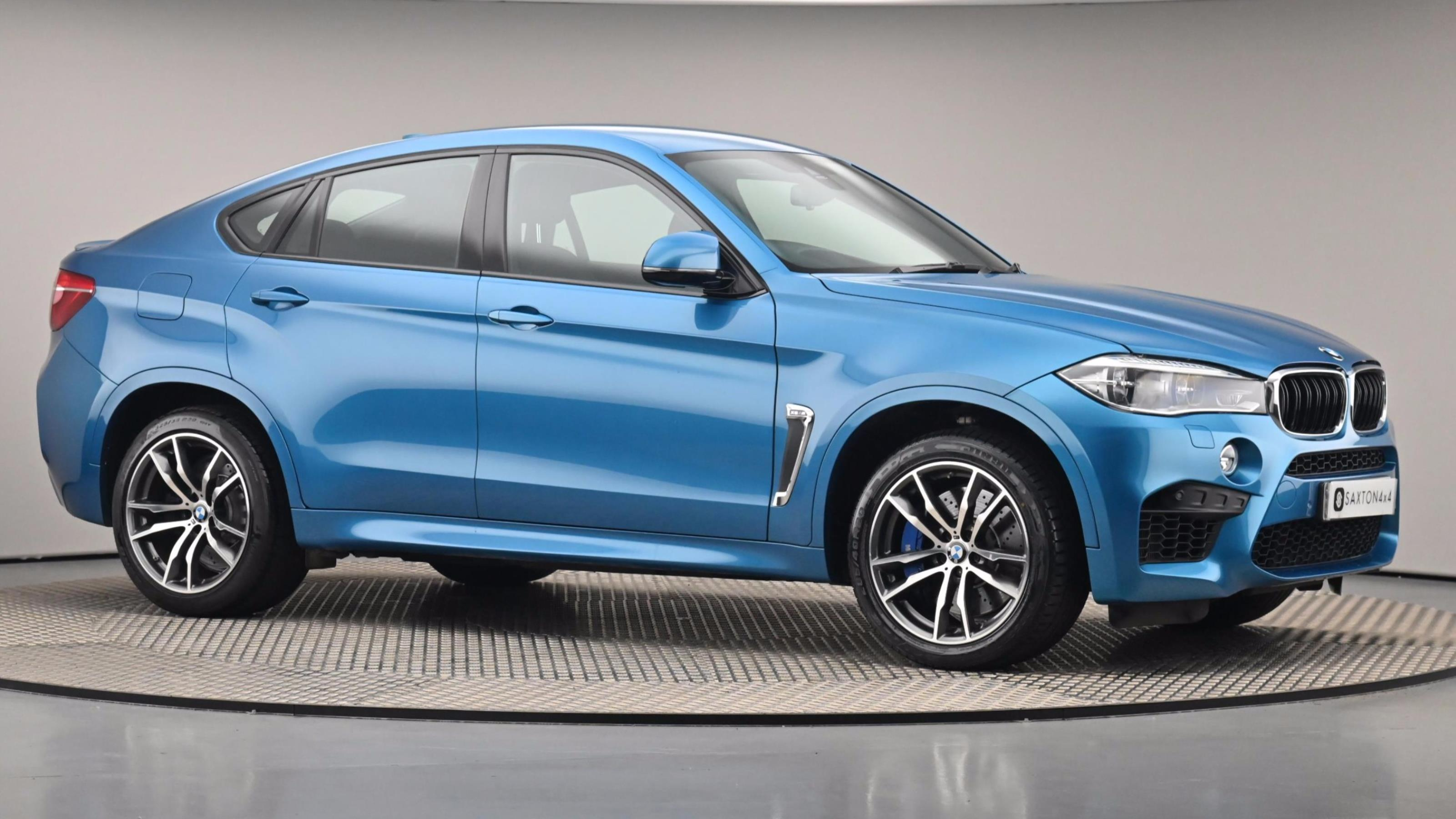 Used 2016 BMW X6 M xDrive X6 M 5dr Auto BLUE at Saxton4x4