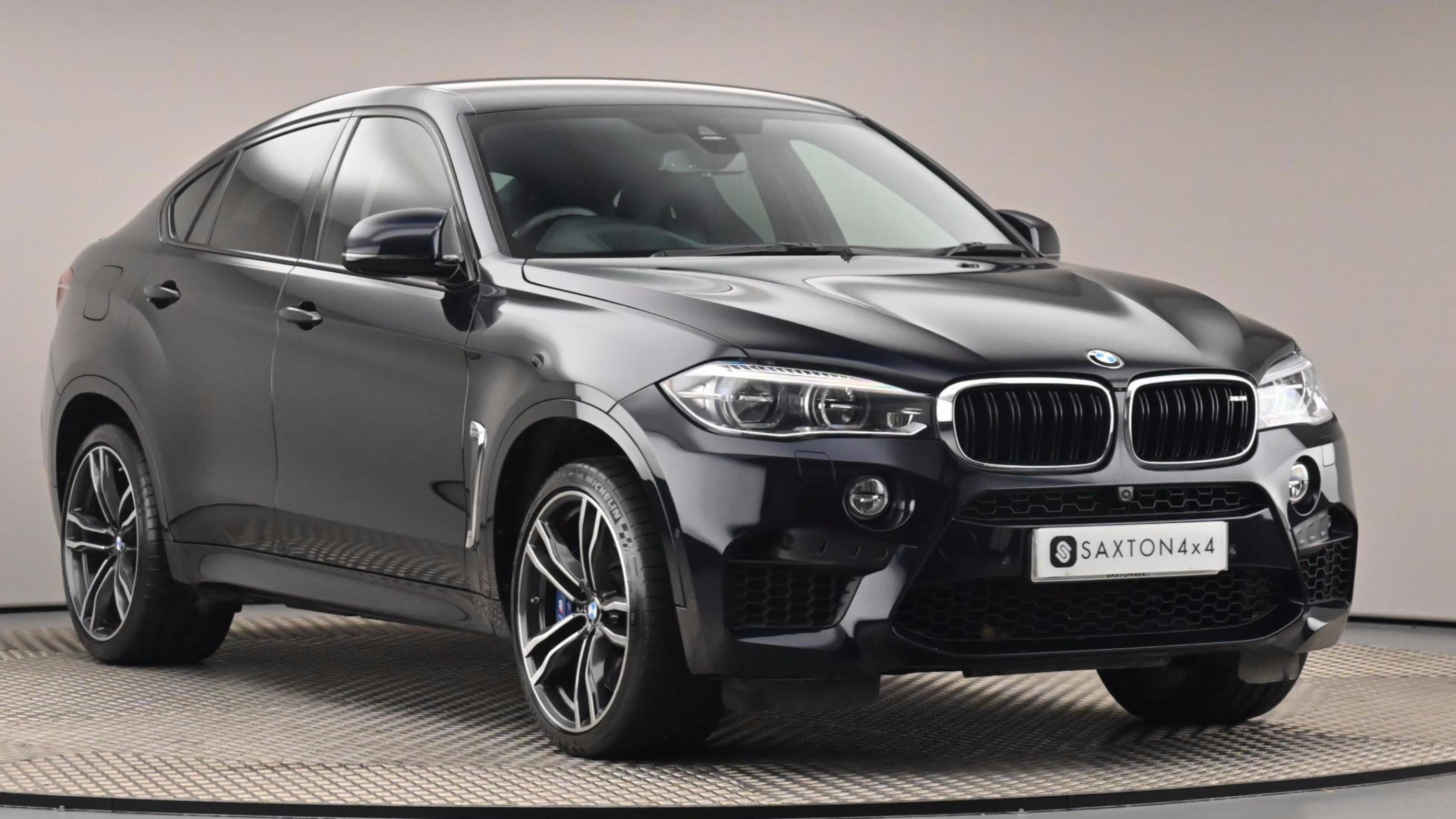Used 2018 BMW X6 M xDrive X6 M 5dr Auto Black at Saxton4x4