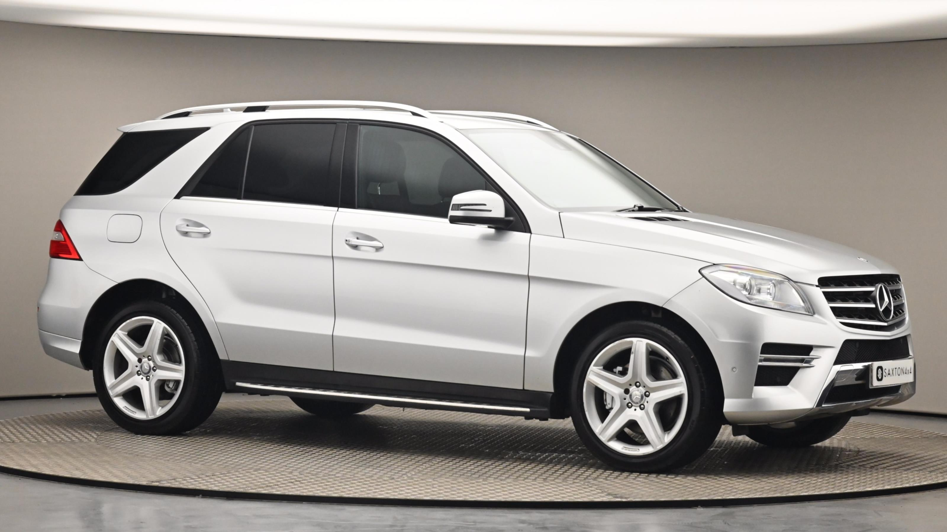 Used 14 Mercedes-Benz M CLASS ML250 CDi BlueTEC AMG Sport 5dr Auto [Comand] SILVER at Saxton4x4