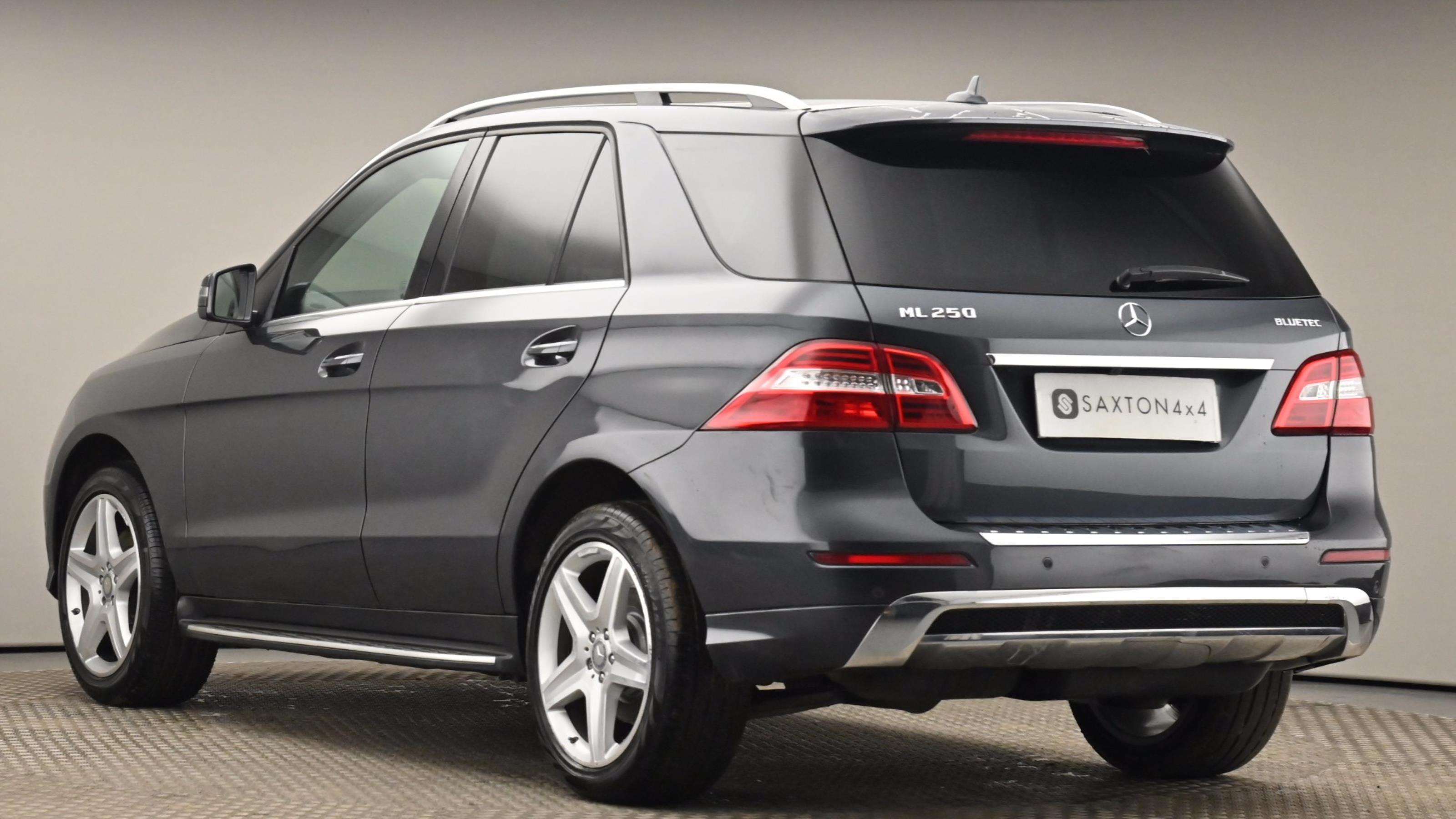 Used 15 Mercedes-Benz M CLASS ML250 CDi BlueTEC AMG Line 5dr Auto [Premium] GREY at Saxton4x4