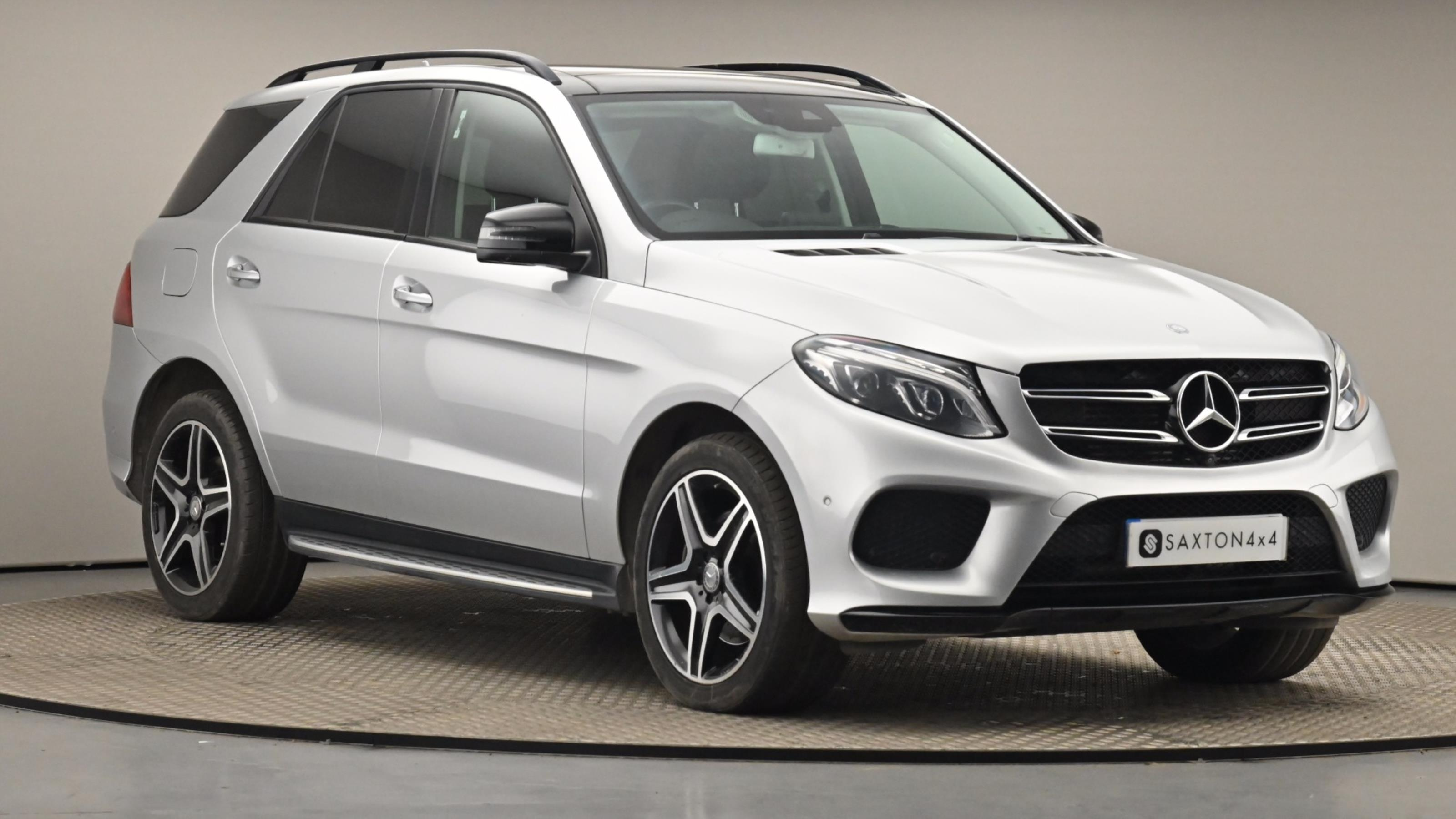 Used 2016 Mercedes-Benz GLE GLE 250d 4Matic AMG Line Prem Plus 5dr 9G-Tronic SILVER at Saxton4x4