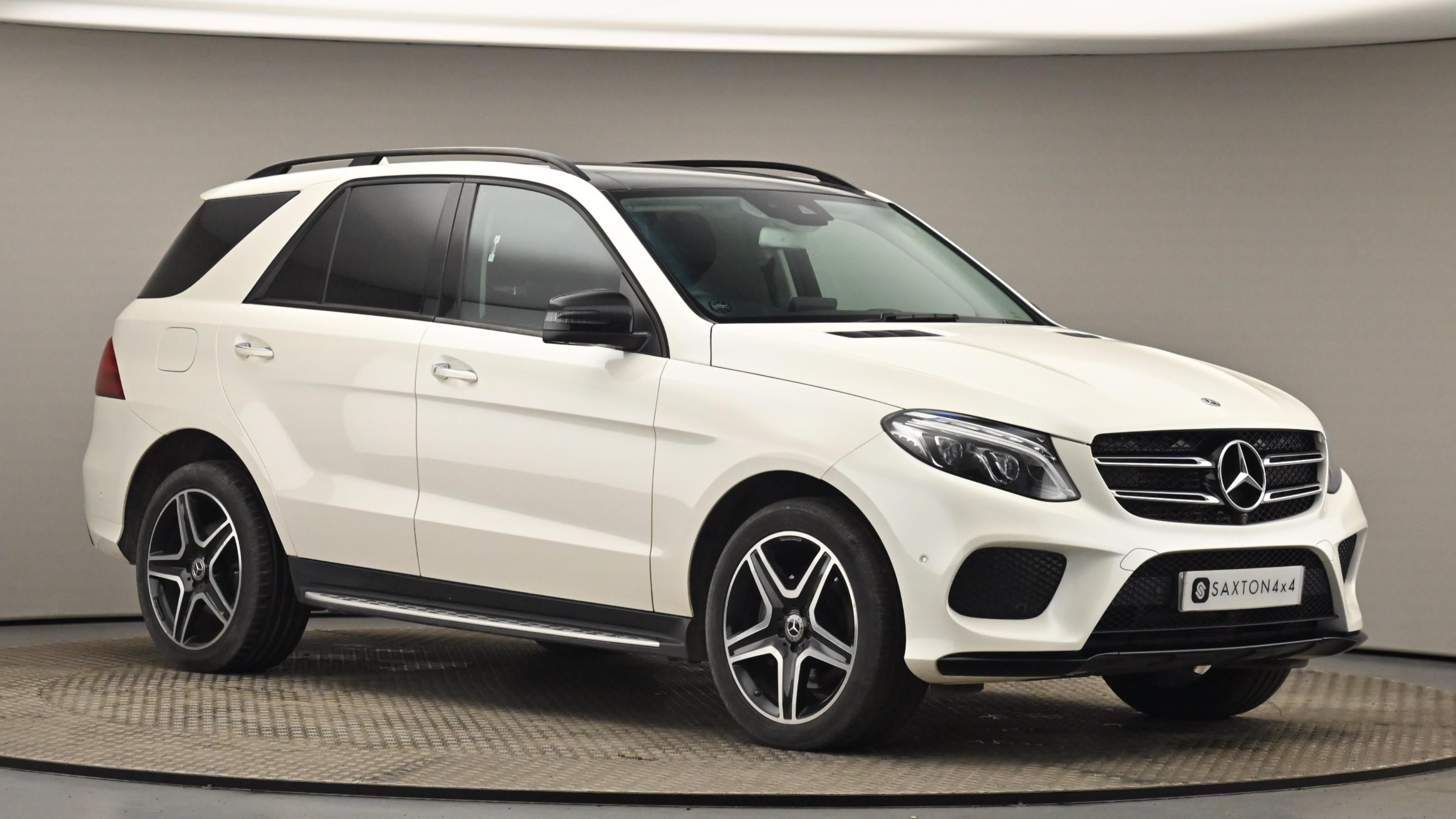 Used 2017 Mercedes-Benz GLE GLE 250d 4Matic AMG Line Prem Plus 5dr 9G-Tronic WHITE at Saxton4x4