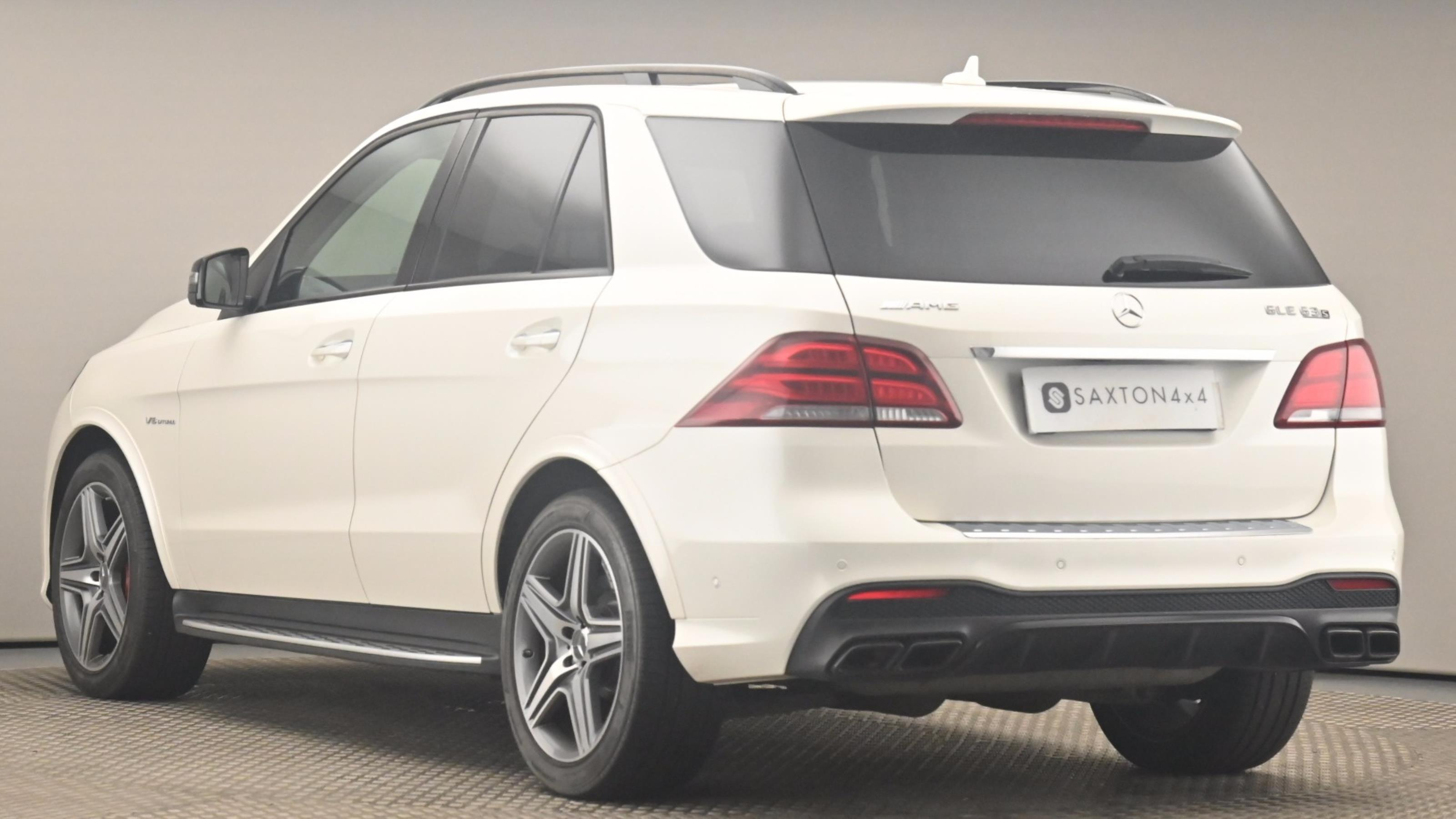 Used 2018 Mercedes-Benz GLE GLE 63 S 4Matic Premium 5dr 7G-Tronic WHITE at Saxton4x4