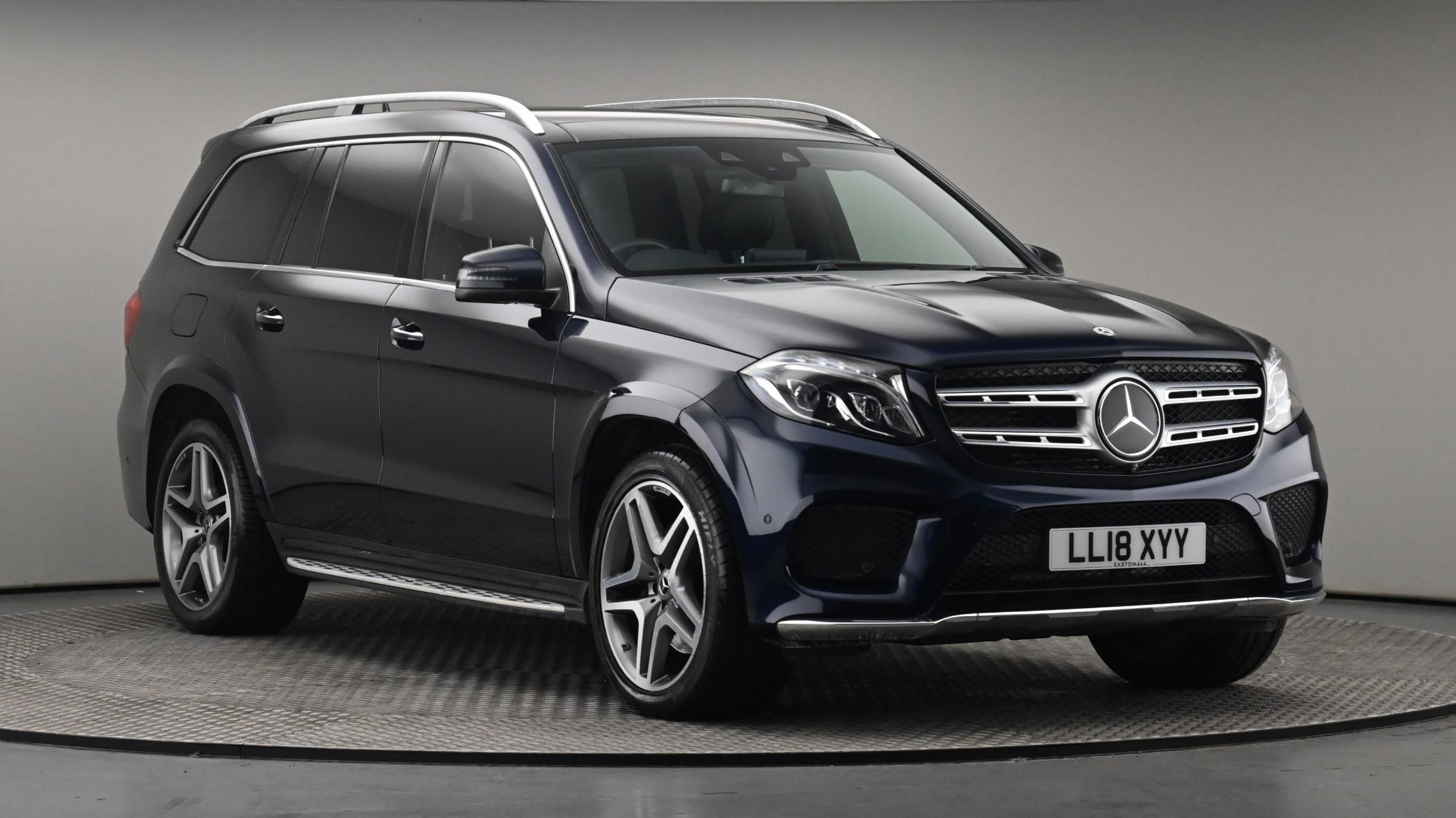 Used 2018 Mercedes-Benz GLS GLS 350d 4Matic AMG Line 5dr 9G-Tronic BLUE at Saxton4x4