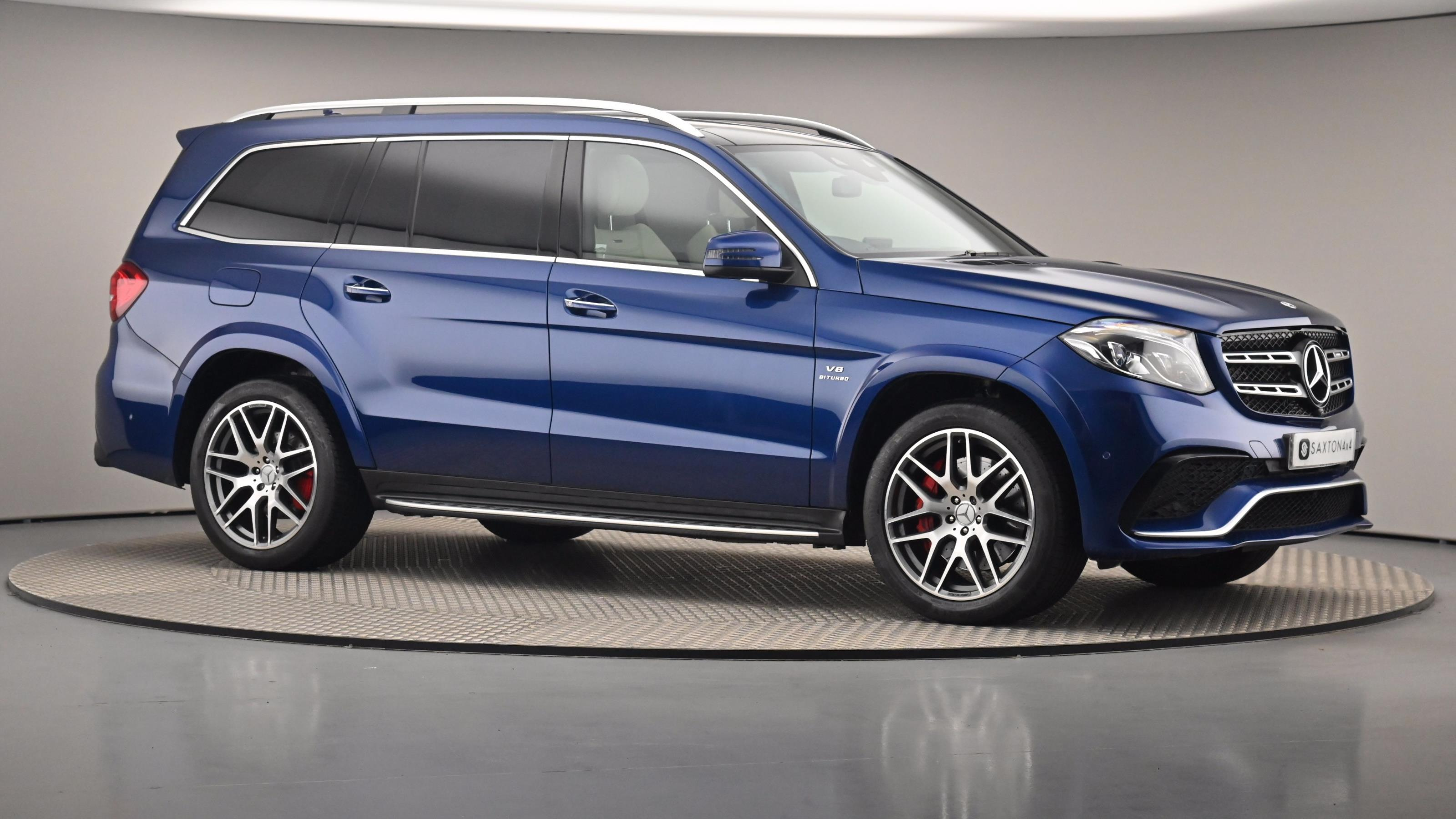 Used 2017 Mercedes-Benz GLS AMG GLS 63 4Matic 5dr 7G-Tronic Blue at Saxton4x4