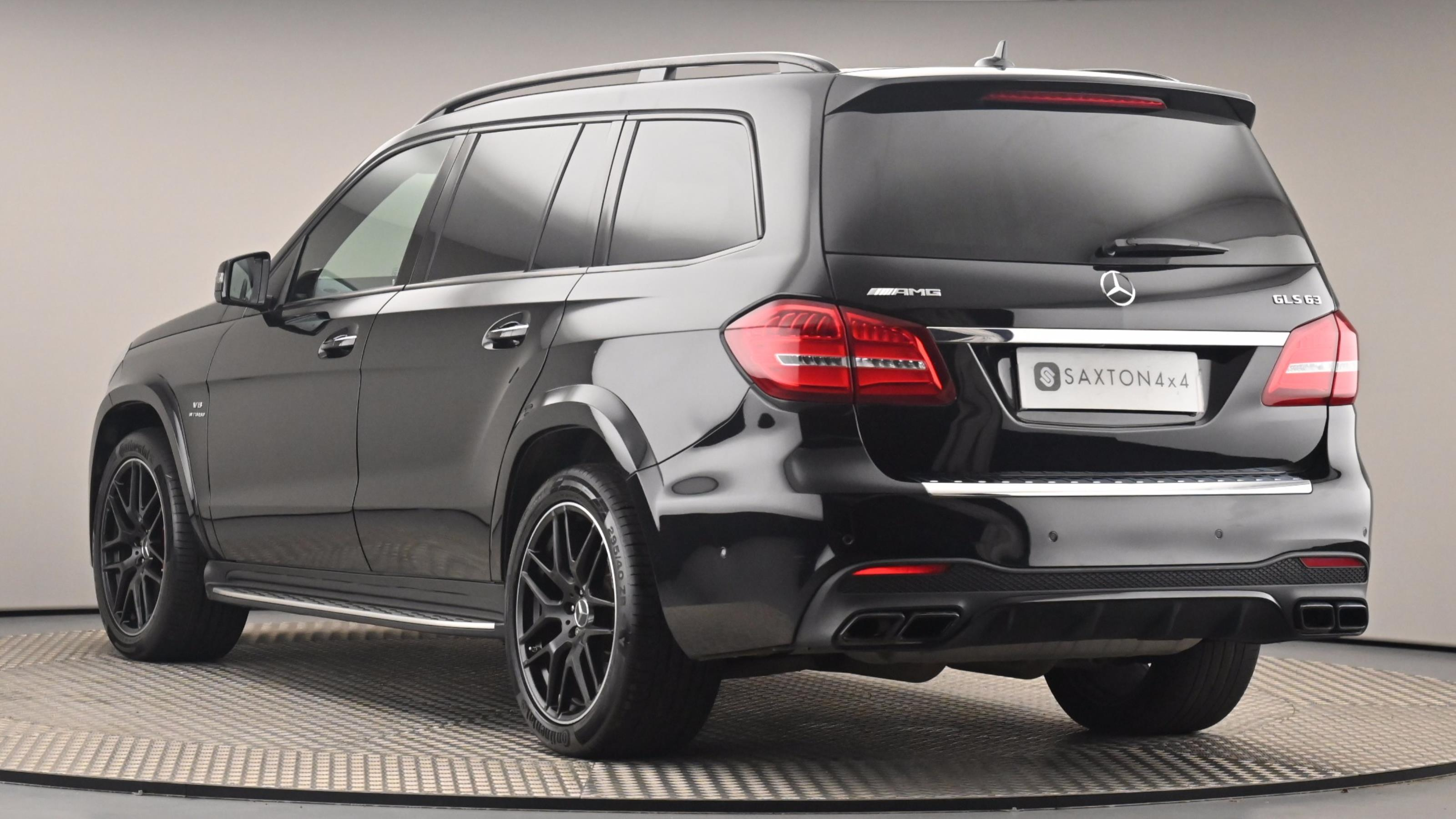 Used 2017 Mercedes-Benz GLS AMG GLS 63 4Matic 5dr 7G-Tronic BLACK at Saxton4x4