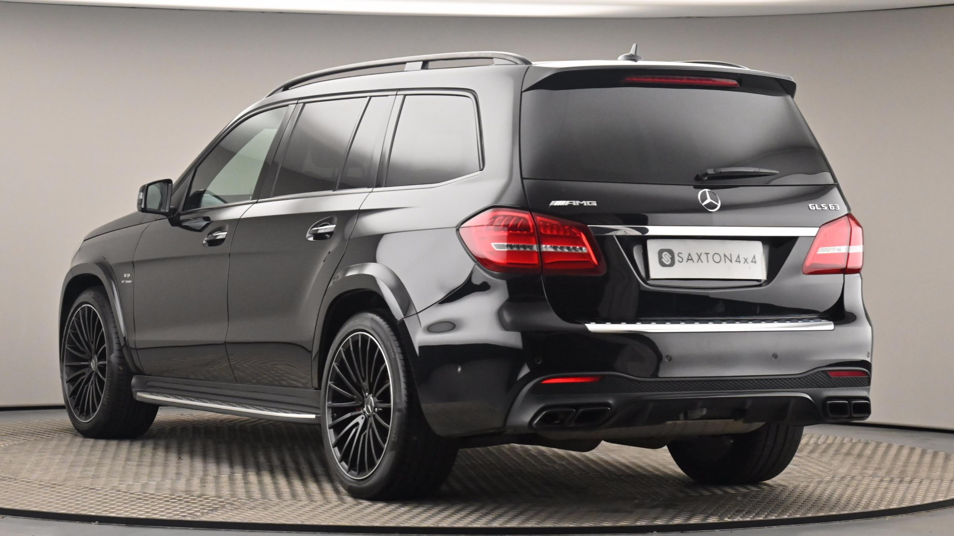 Used 2017 Mercedes-Benz GLS GLS 63 4Matic 5dr 7G-Tronic Black at Saxton4x4