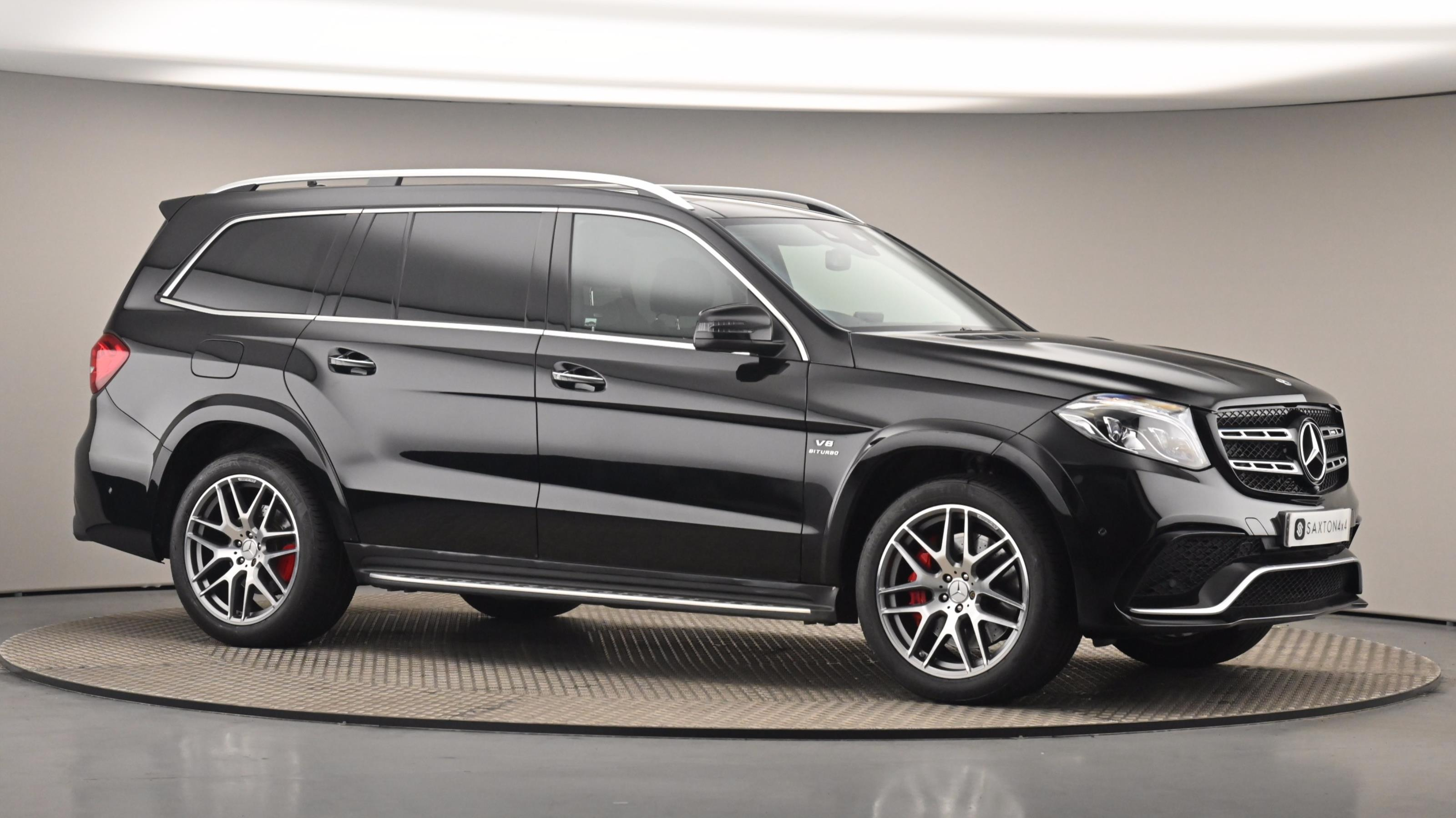Used 2018 Mercedes-Benz GLS AMG GLS 63 4Matic 5dr 7G-Tronic BLACK at Saxton4x4