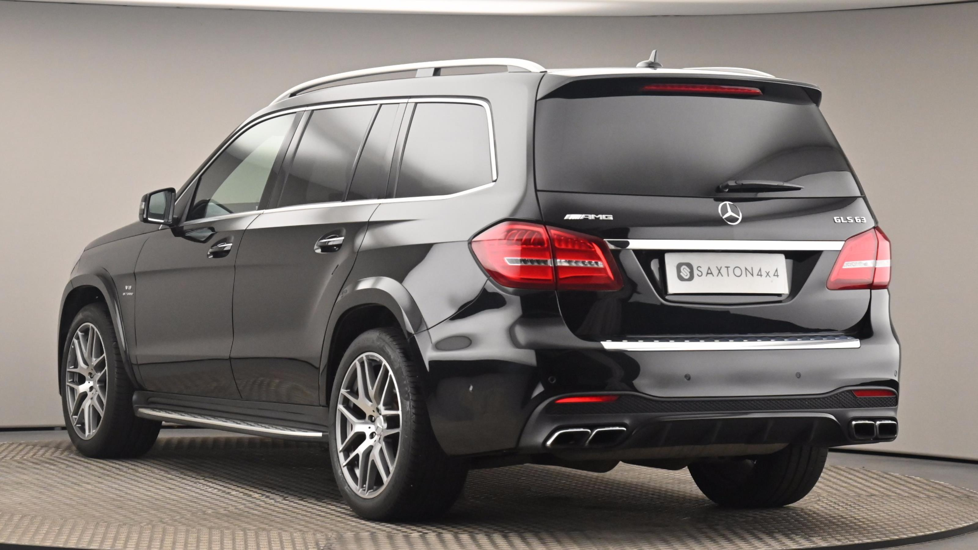 Used 2018 Mercedes-Benz GLS GLS 63 4Matic 5dr 7G-Tronic BLACK at Saxton4x4