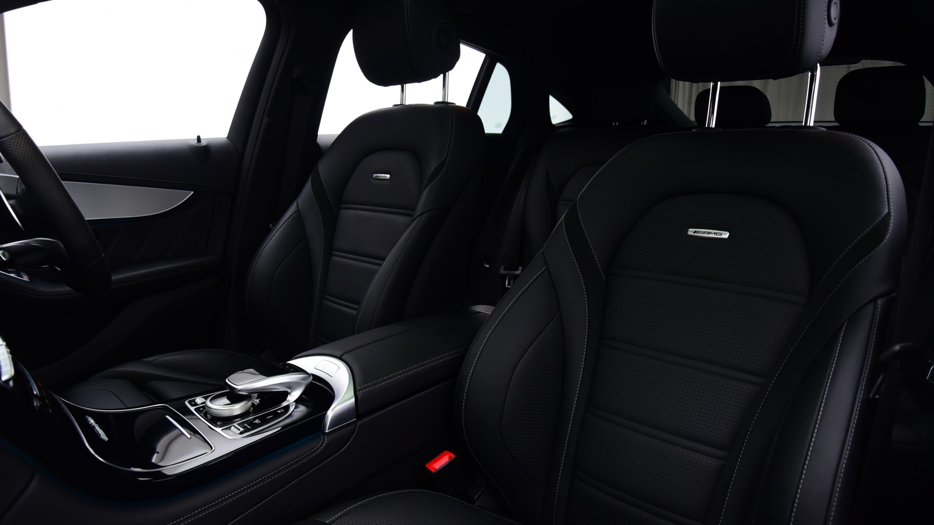 Used 2018 Mercedes-Benz GLC AMG 63 Premium 4matic WHITE at Saxton4x4