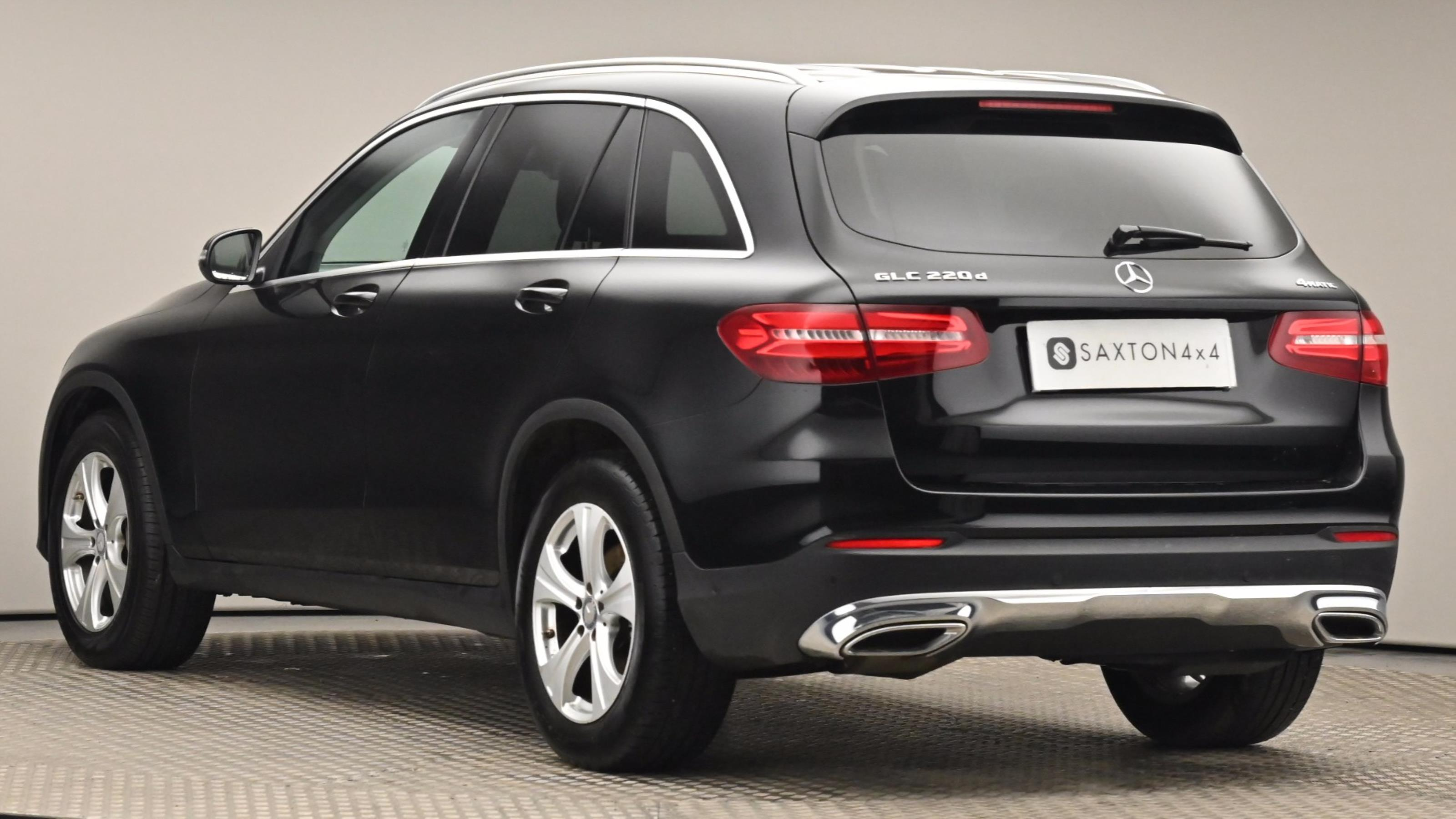 Used 16 Mercedes-Benz GLC COUPE GLC 220d 4Matic Sport 5dr 9G-Tronic Black at Saxton4x4