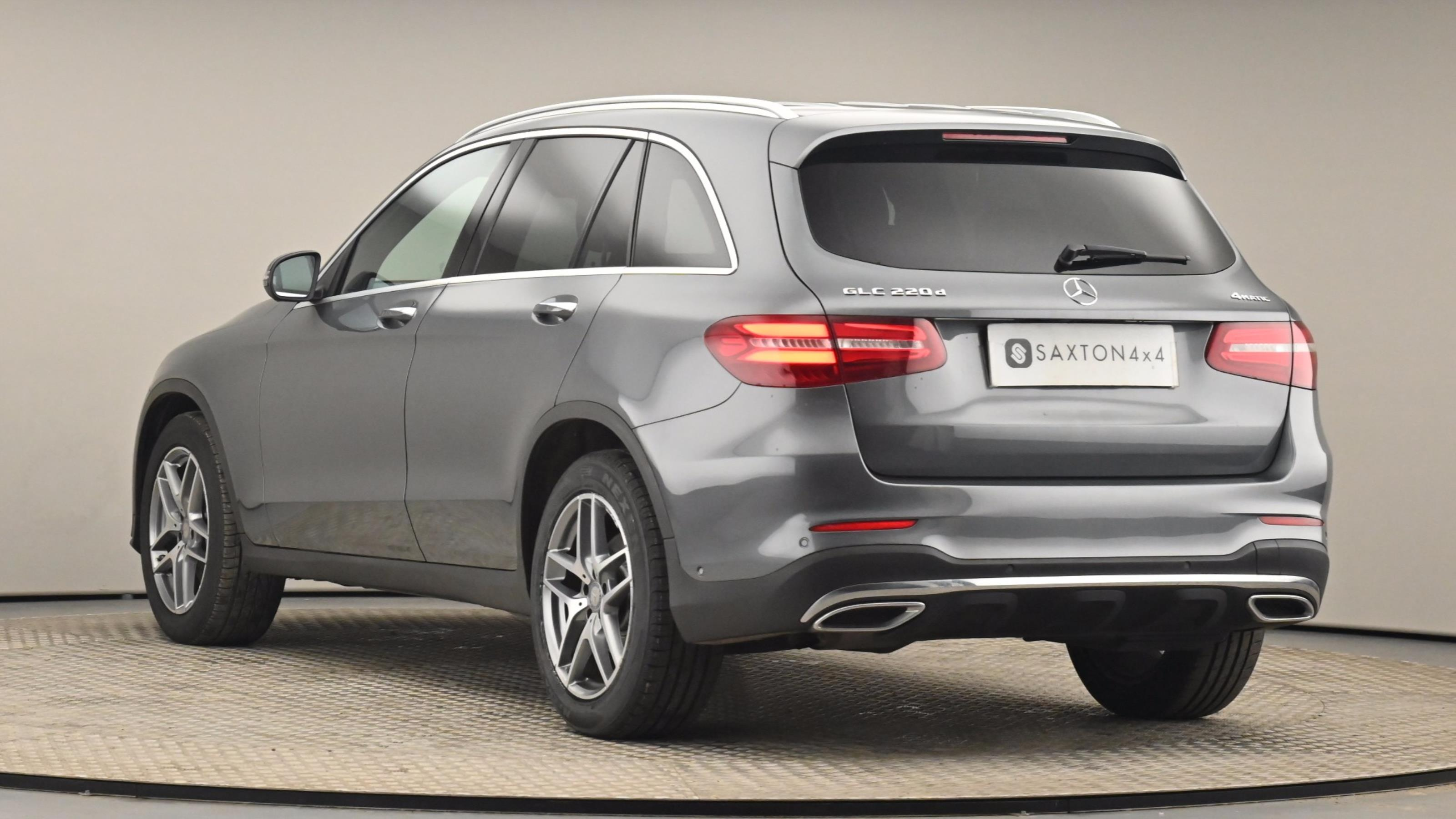 Used 16 Mercedes-Benz GLC COUPE GLC 220d 4Matic AMG Line Premium 5dr 9G-Tronic GREY at Saxton4x4