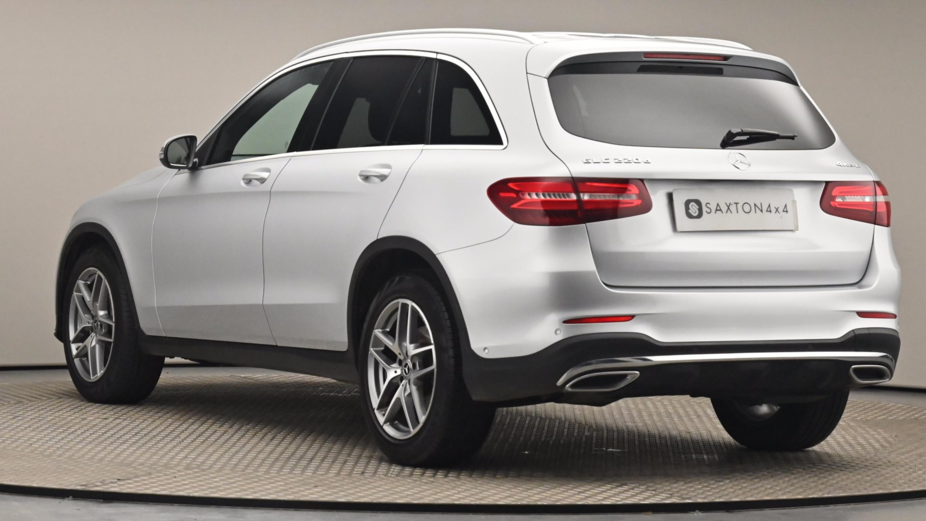 Used 17 Mercedes-Benz GLC GLC 220d 4Matic AMG Line 5dr 9G-Tronic Silver at Saxton4x4