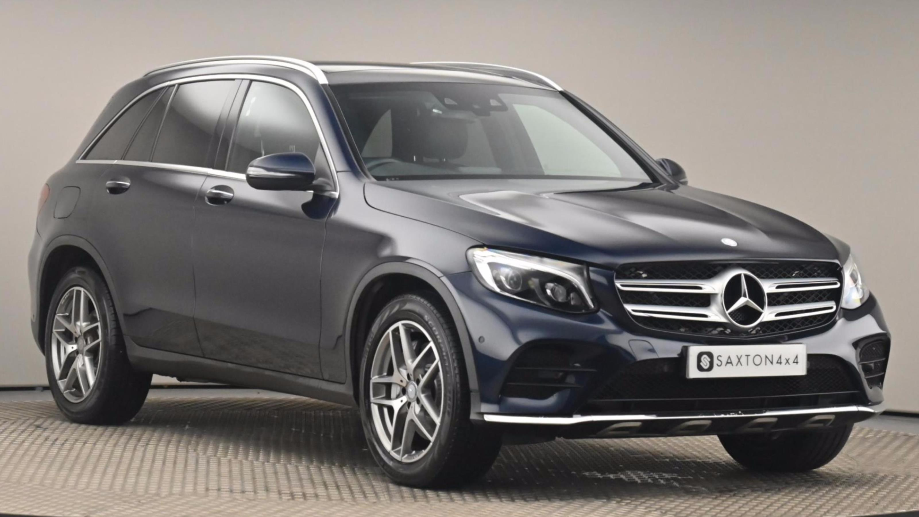 Used 15 Mercedes-Benz GLC GLC 250d 4Matic AMG Line Premium 5dr 9G-Tronic Blue at Saxton4x4