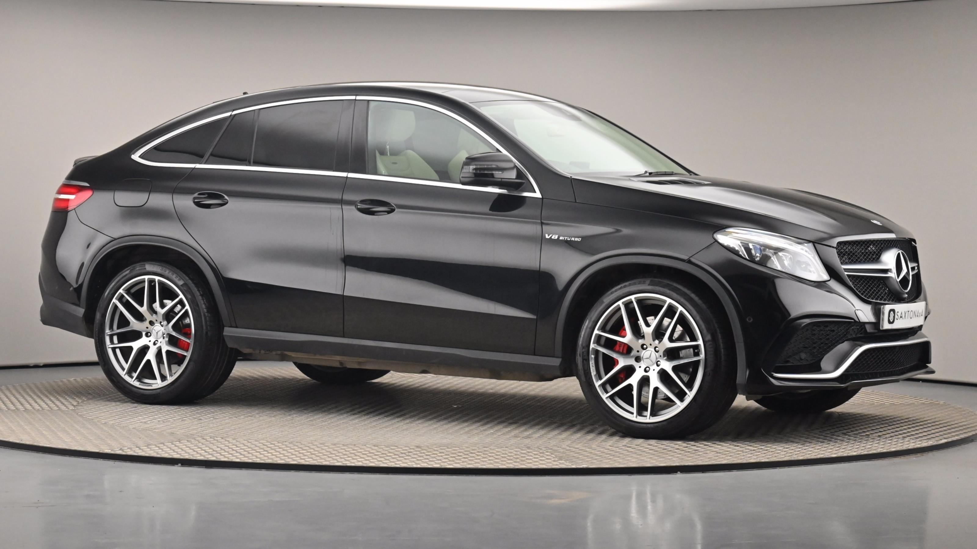 Used 2017 Mercedes-Benz GLE COUPE AMG GLE 63 S 4Matic 5dr 7G-Tronic BLACK at Saxton4x4