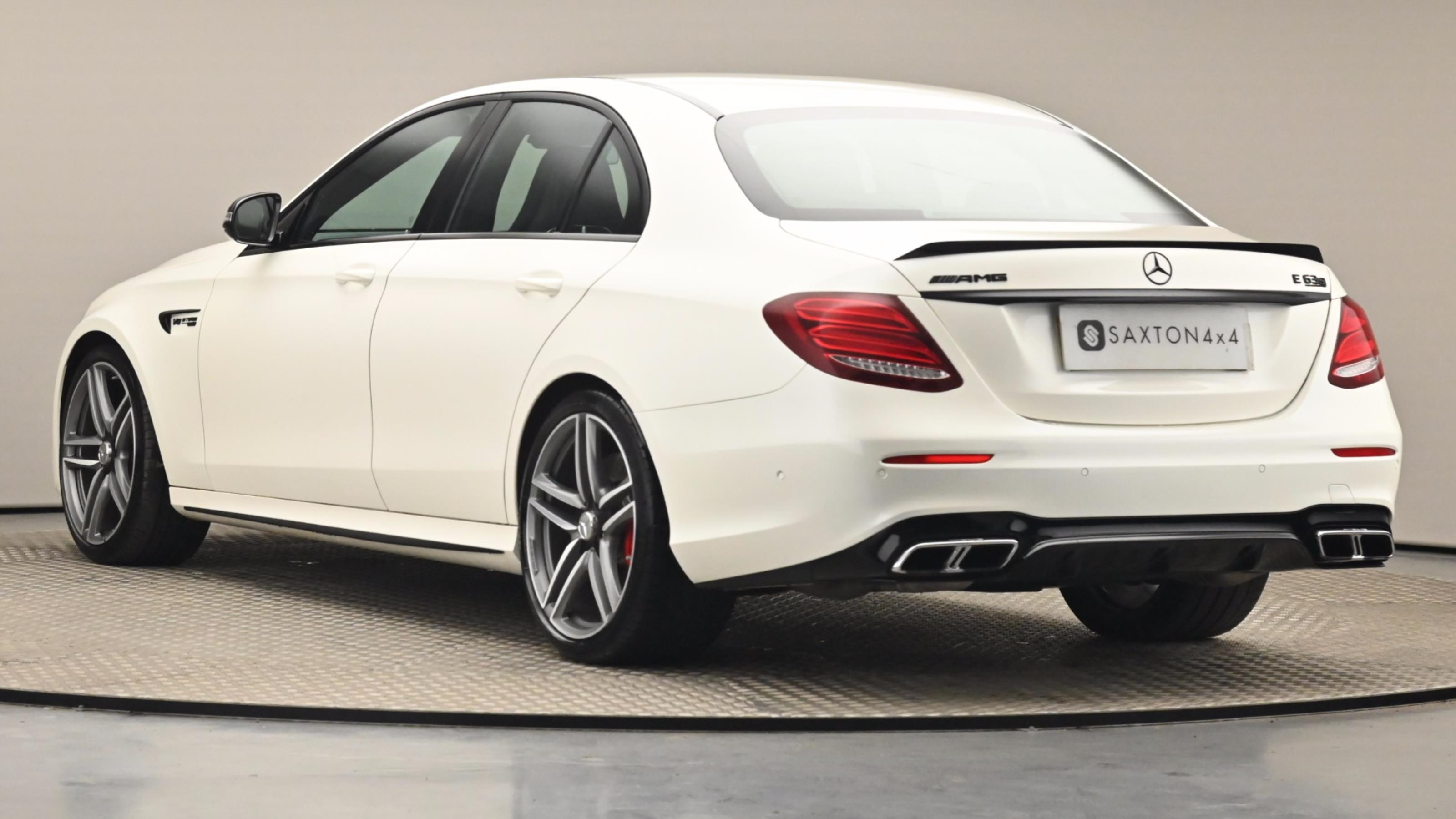 Used 2017 Mercedes-Benz E CLASS E63 S 4Matic+ 4dr 9G-Tronic WHITE at Saxton4x4