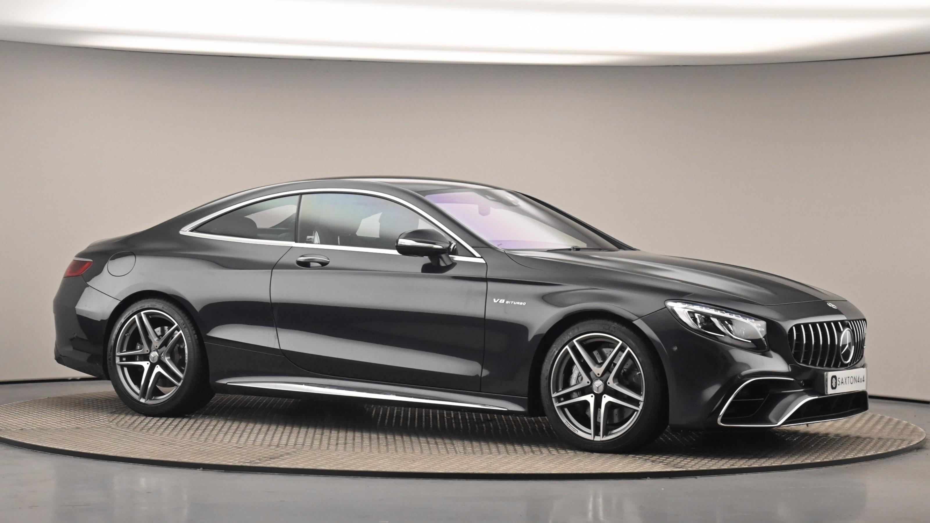 Used 2018 Mercedes-Benz S CLASS AMG S63 [612] 2dr MCT BLACK at Saxton4x4