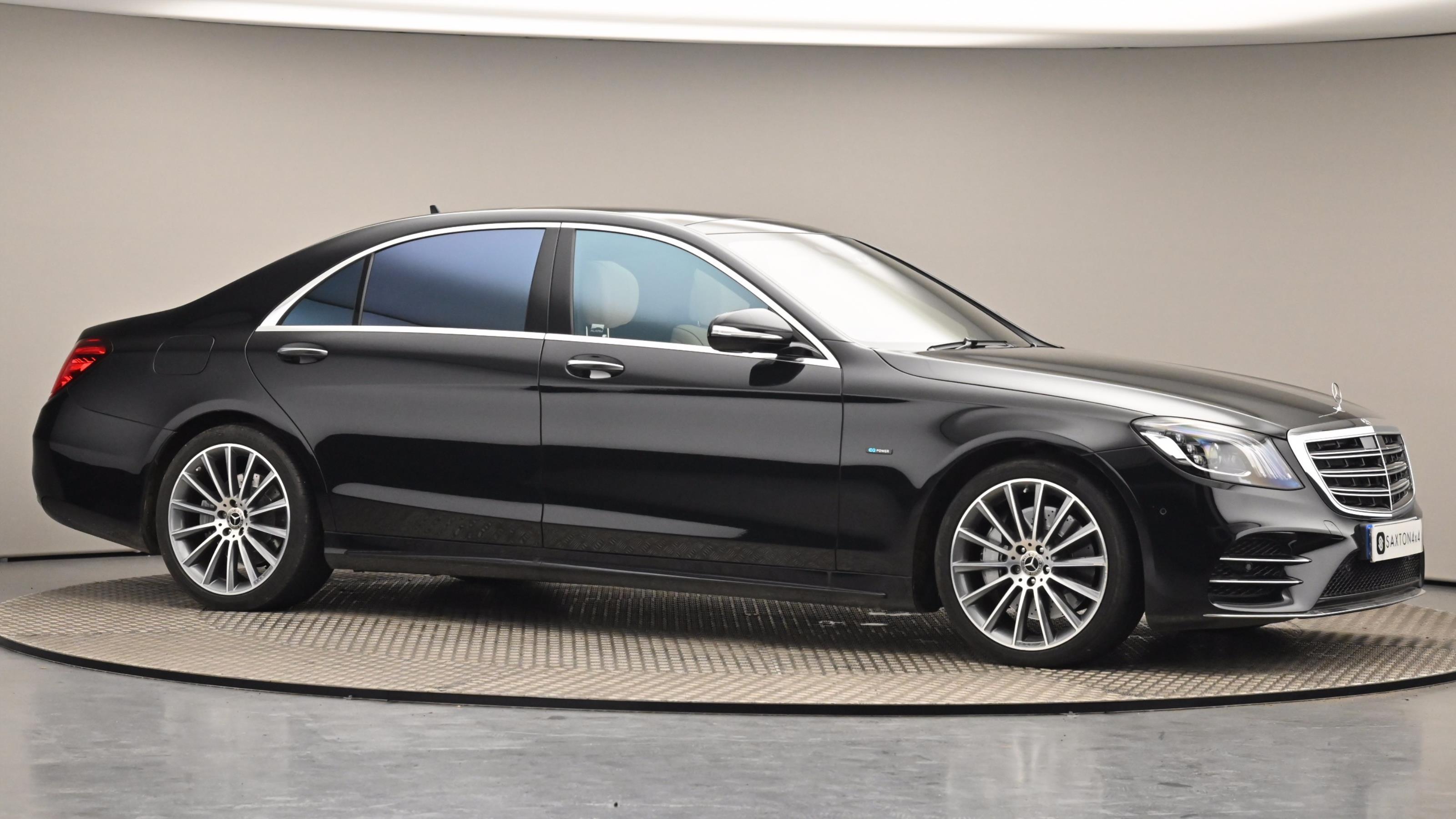 Used 2019 Mercedes-Benz S CLASS S560e L AMG Line Executive/Prem Plus 4dr 9G-Tronic Black at Saxton4x4