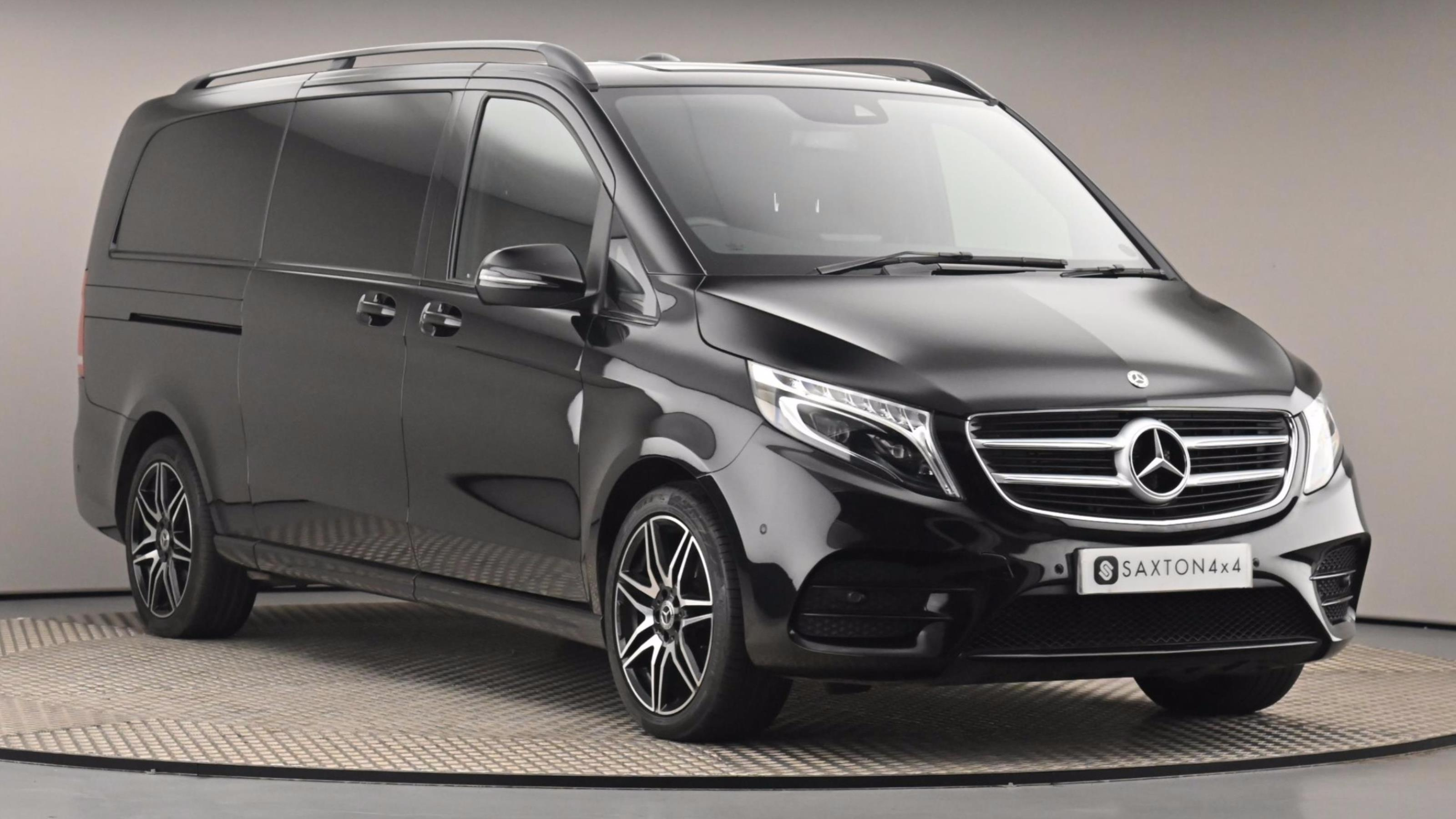 Used 2018 Mercedes-Benz V CLASS V220 d AMG Line 5dr Auto [Extra Long] Black at Saxton4x4