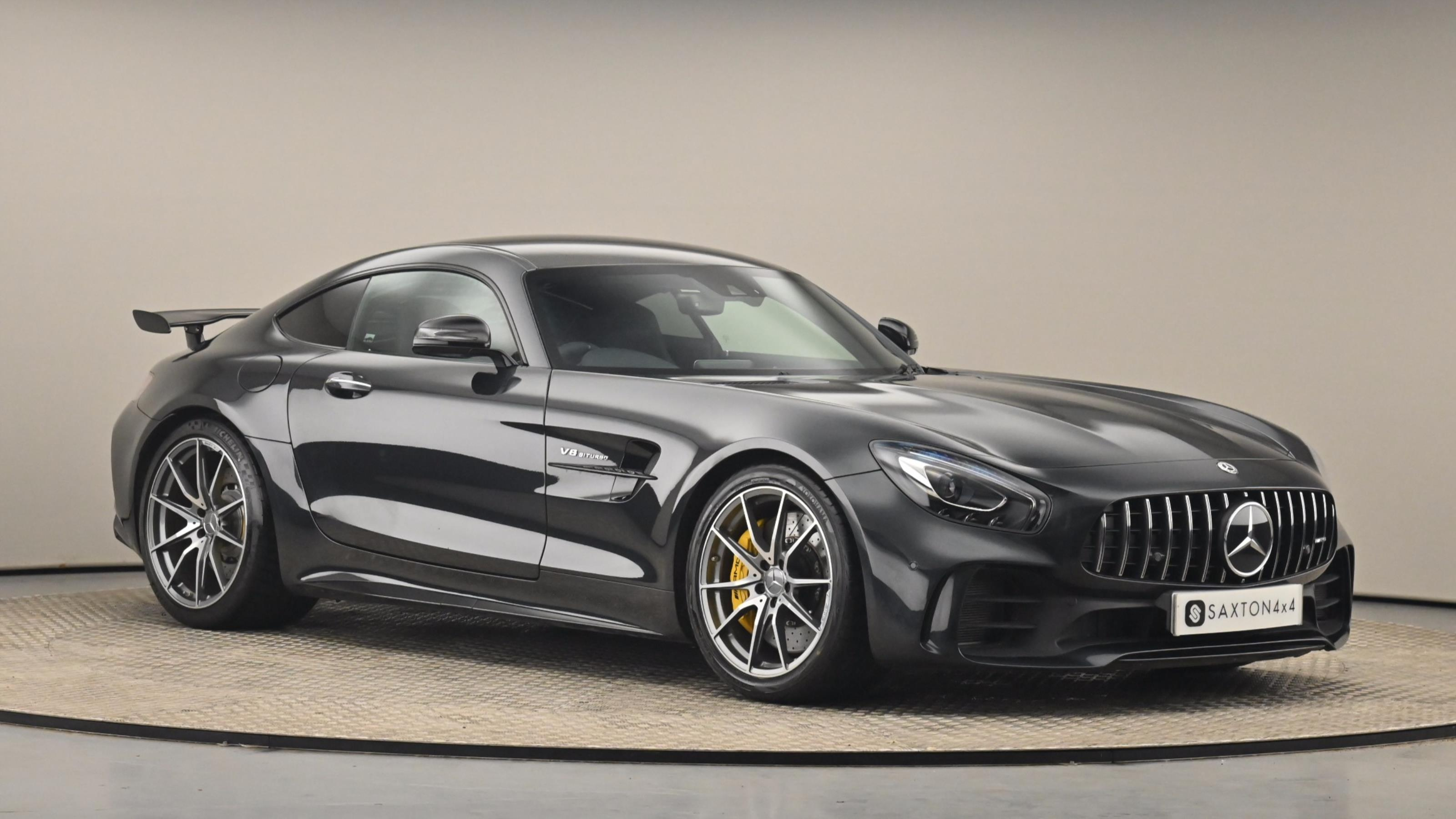 Used 2018 Mercedes-Benz AMG GT 4.0 V8 BiTurbo GPF R (Premium) SpdS DCT (s/s) 2dr BLACK at Saxton4x4
