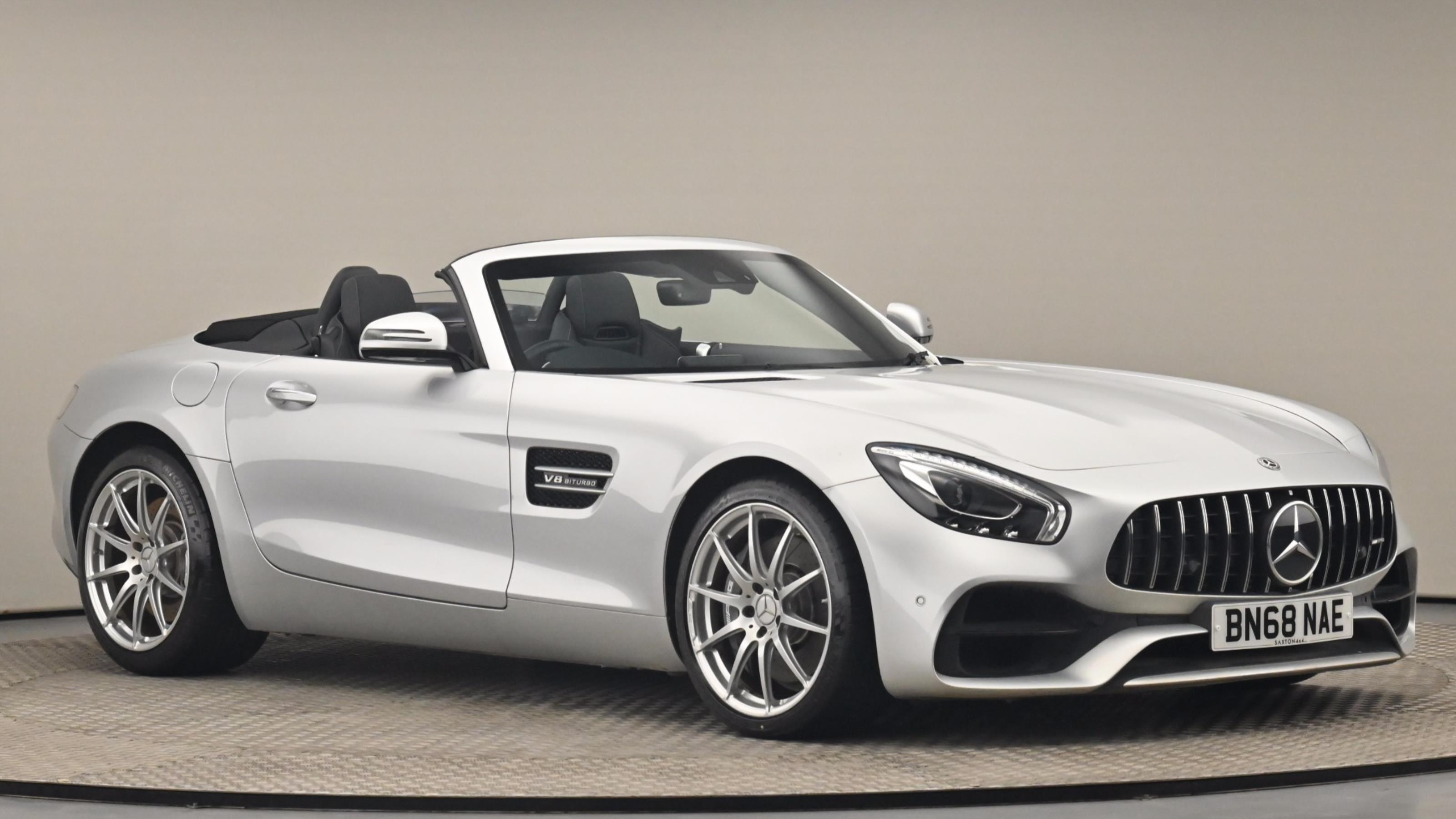 Used 2018 Mercedes-Benz AMG GT GT Premium 2dr Auto SILVER at Saxton4x4