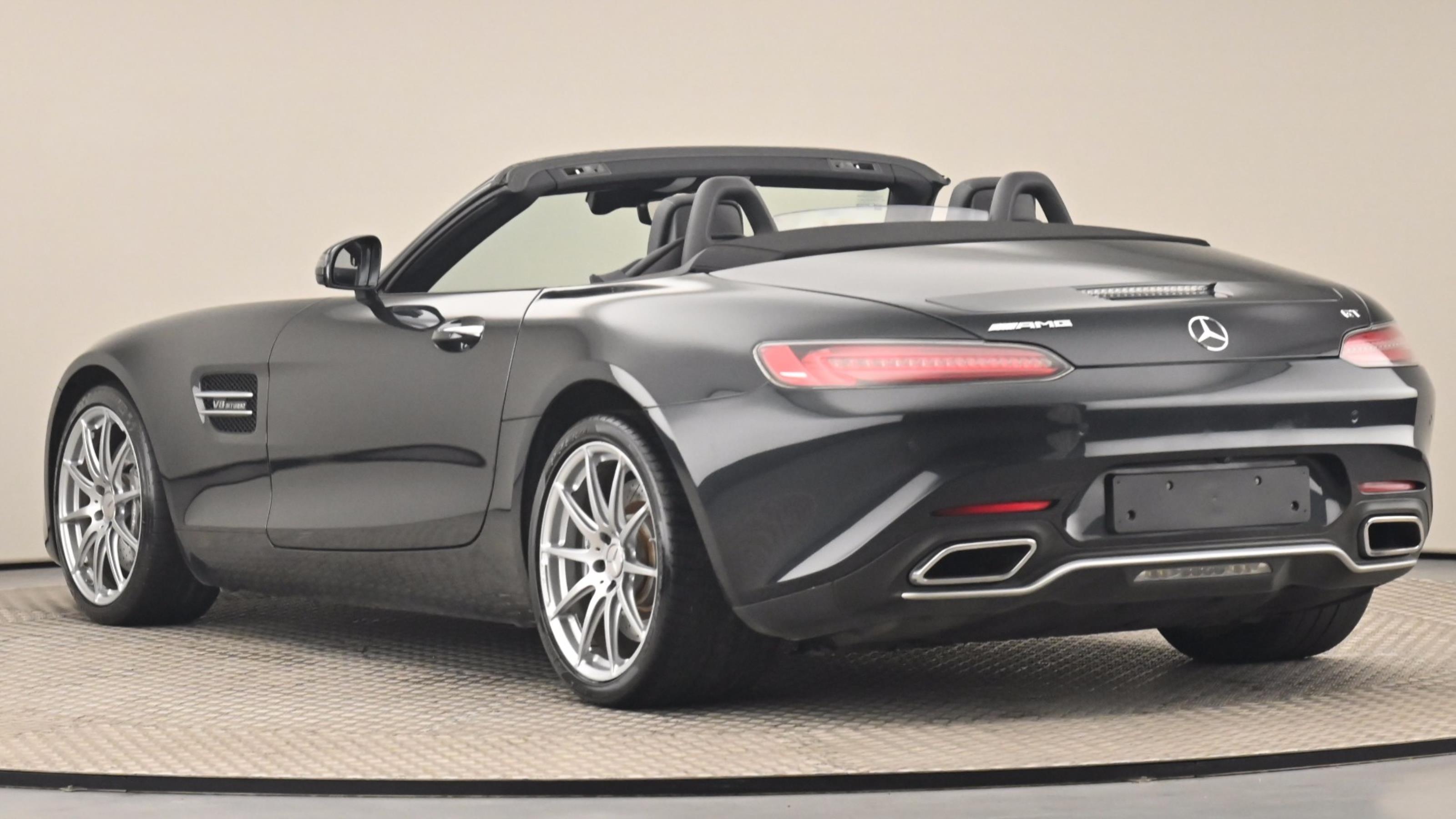 Used 2018 Mercedes-Benz AMG GT GT Premium 2dr Auto BLACK at Saxton4x4