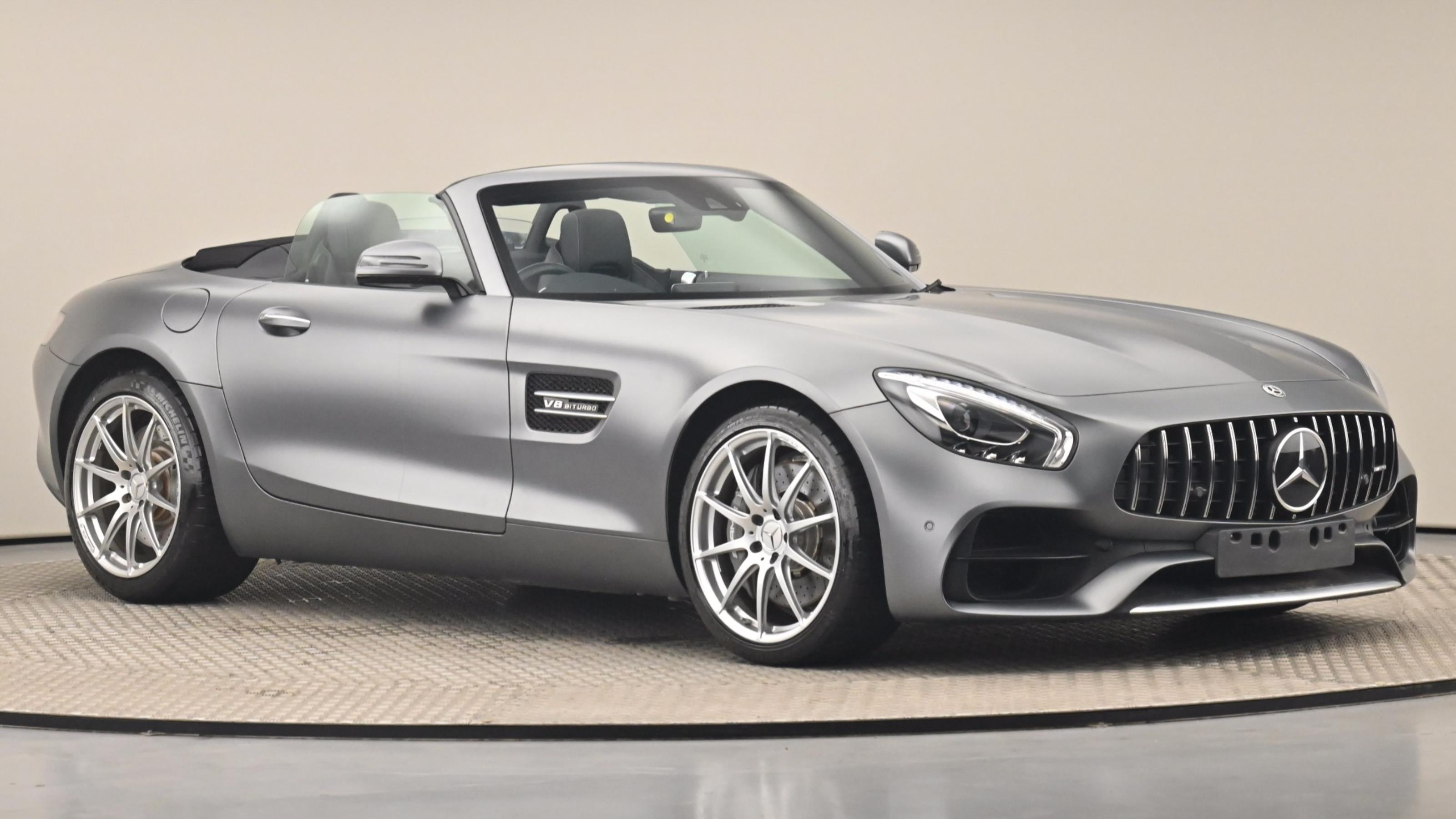 Used 2018 Mercedes-Benz AMG GT GT Premium 2dr Auto GREY at Saxton4x4