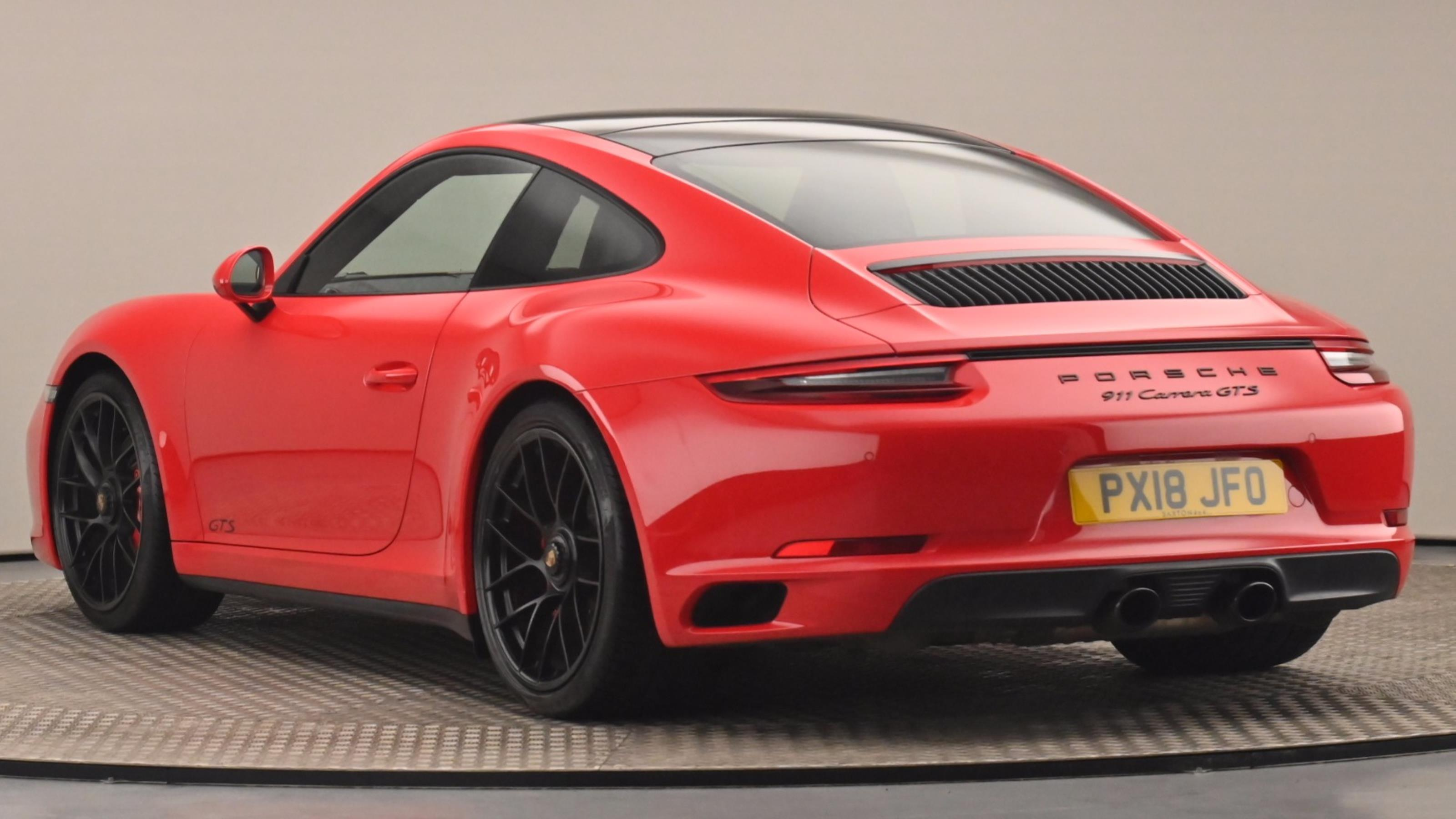 Used 2018 Porsche 911 GTS 2dr PDK RED at Saxton4x4