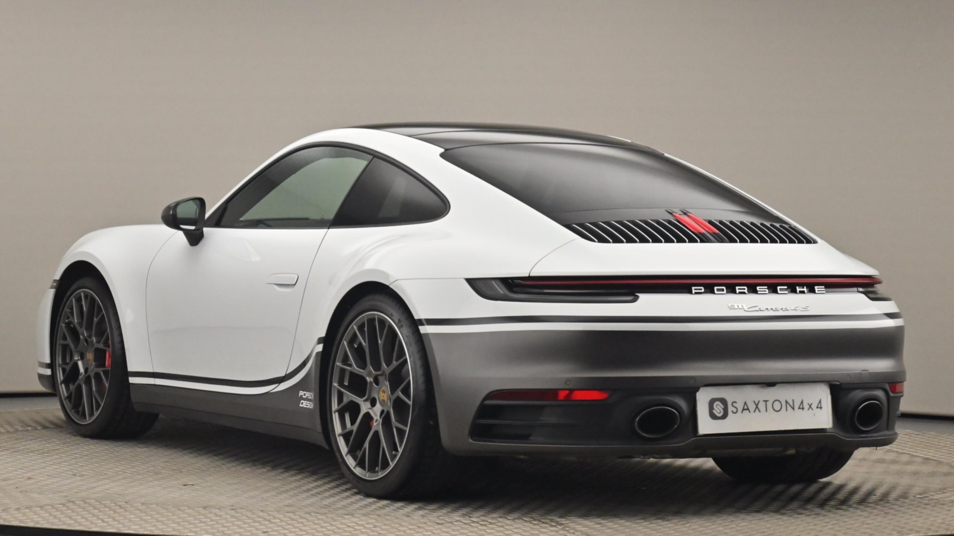 Used 2019 Porsche 911 S 2dr PDK WHITE at Saxton4x4