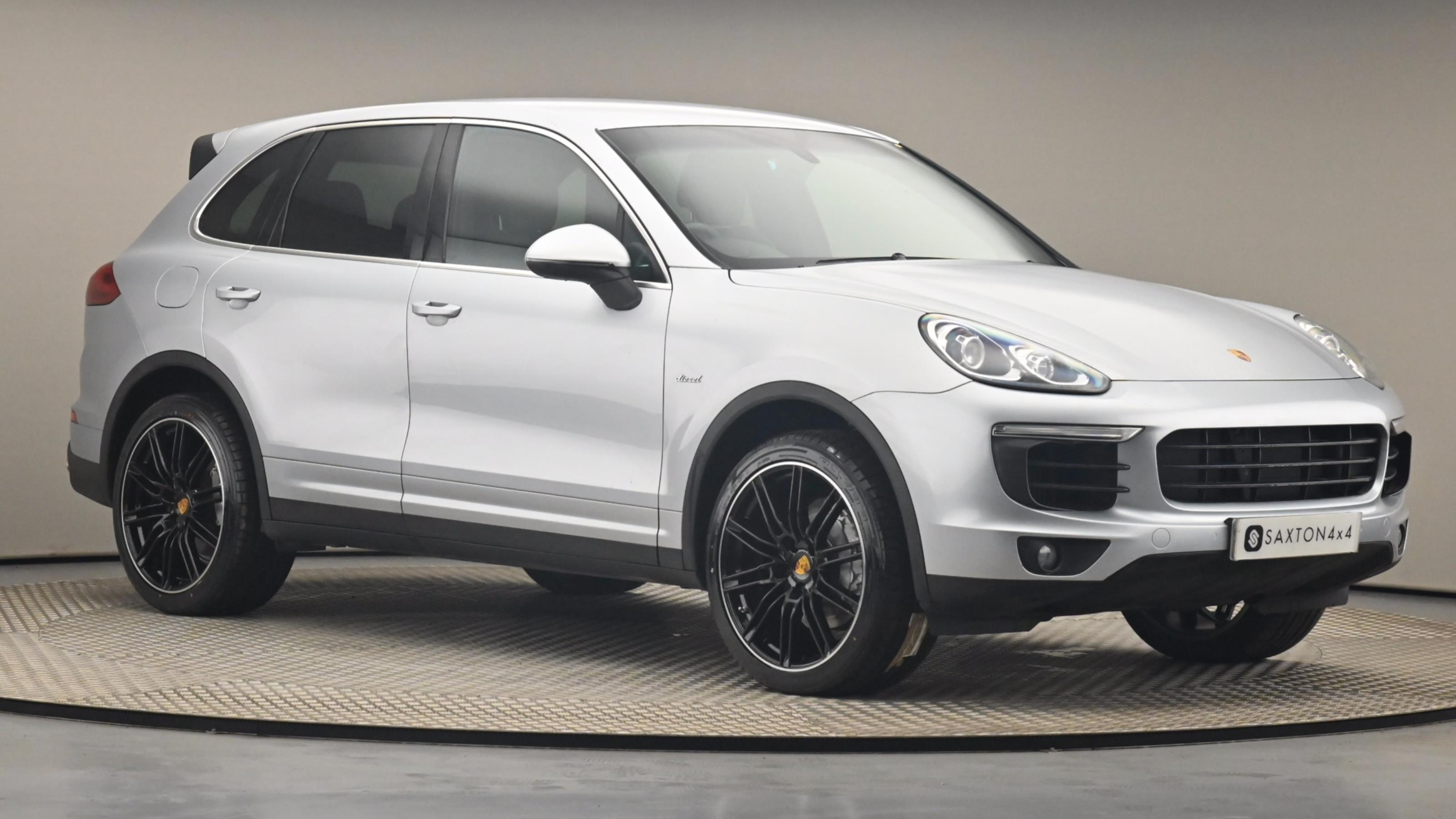 Used 14 Porsche CAYENNE Diesel 5dr Tiptronic S Silver at Saxton4x4
