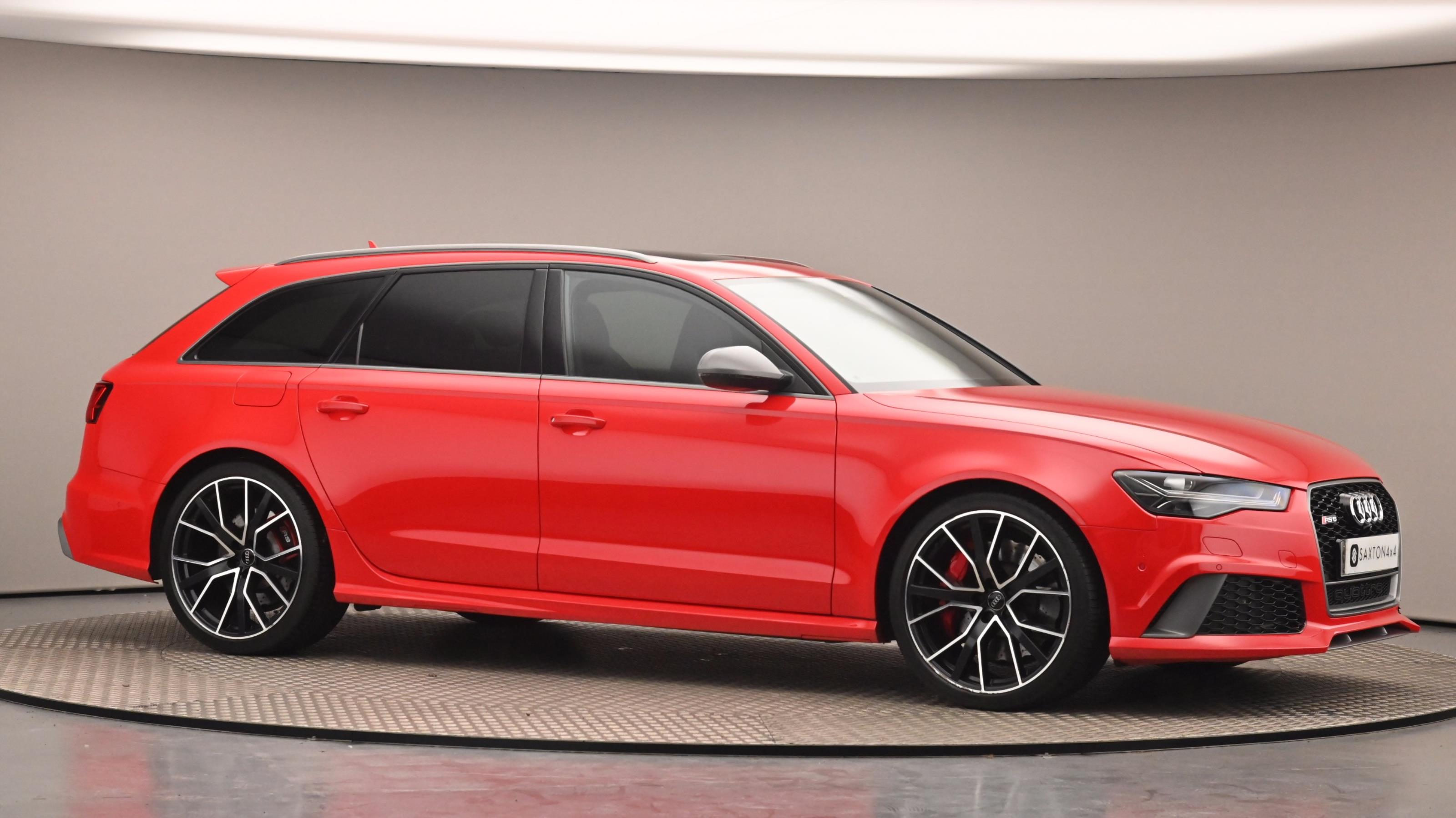 Used 2017 Audi RS6 4.0T FSI Quattro RS 6 Performance 5dr Tip Auto Red at Saxton4x4