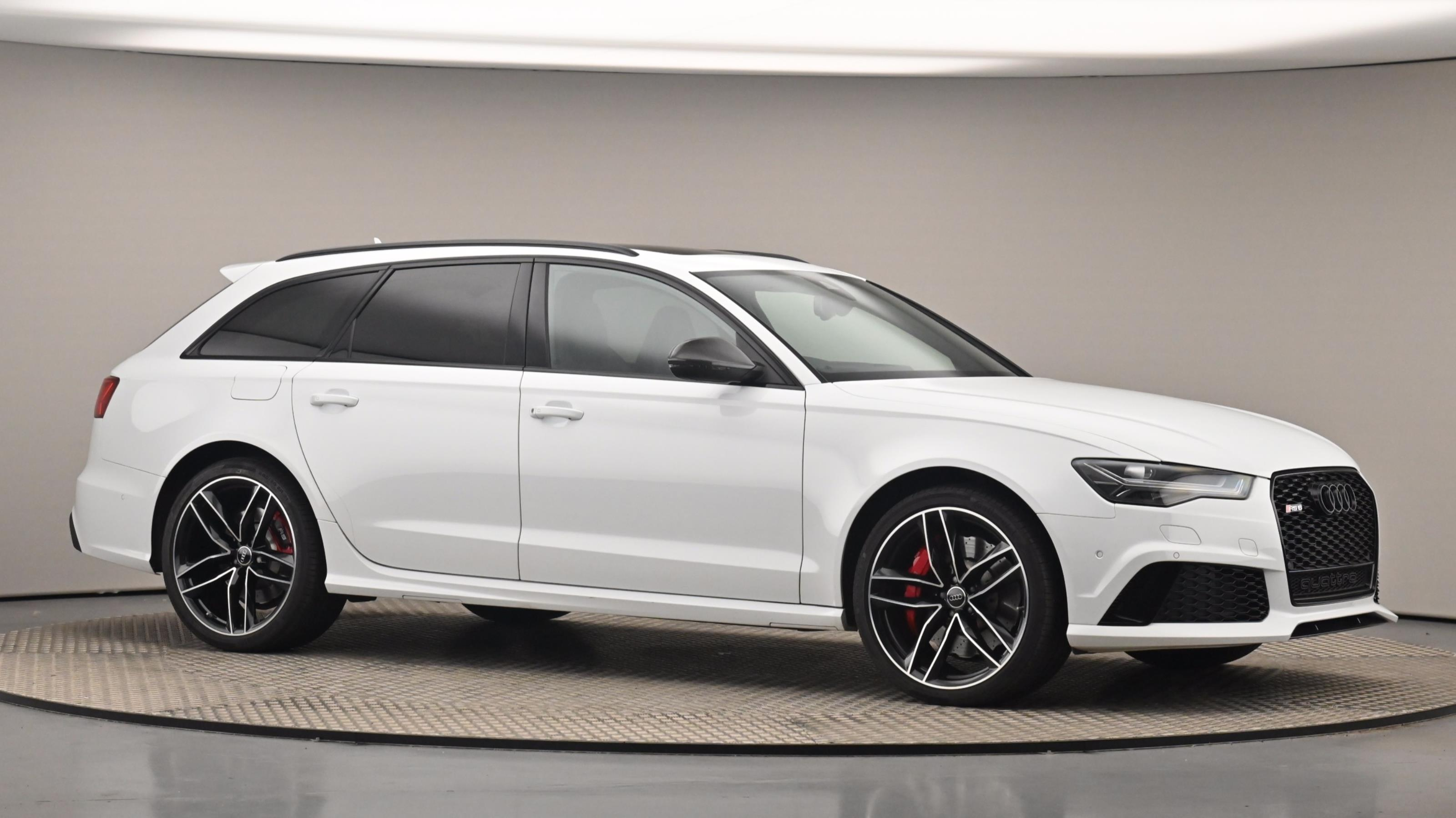 Used 2016 Audi RS6 4.0T FSI Quattro RS 6 5dr Tip Auto WHITE at Saxton4x4
