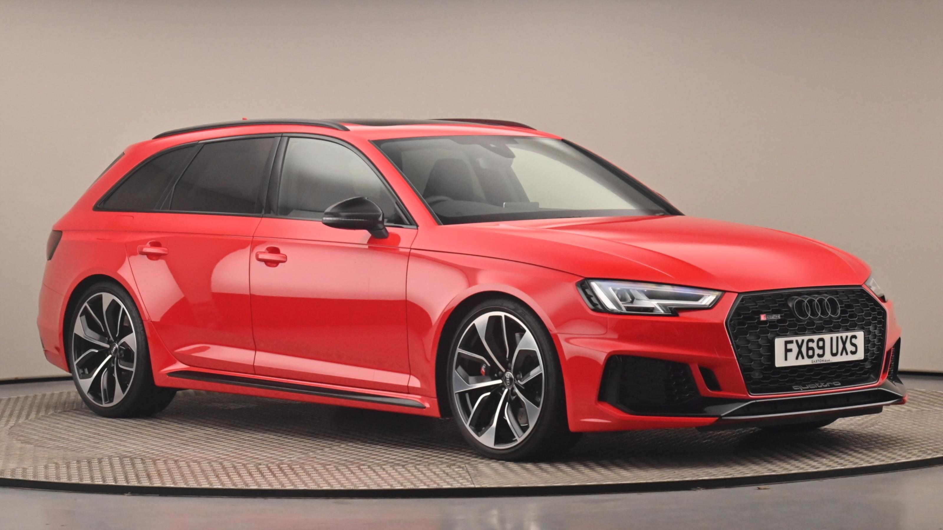 Used 2019 Audi RS4 RS 4 TFSI Quattro Sport Edition 5dr S Tronic RED at Saxton4x4