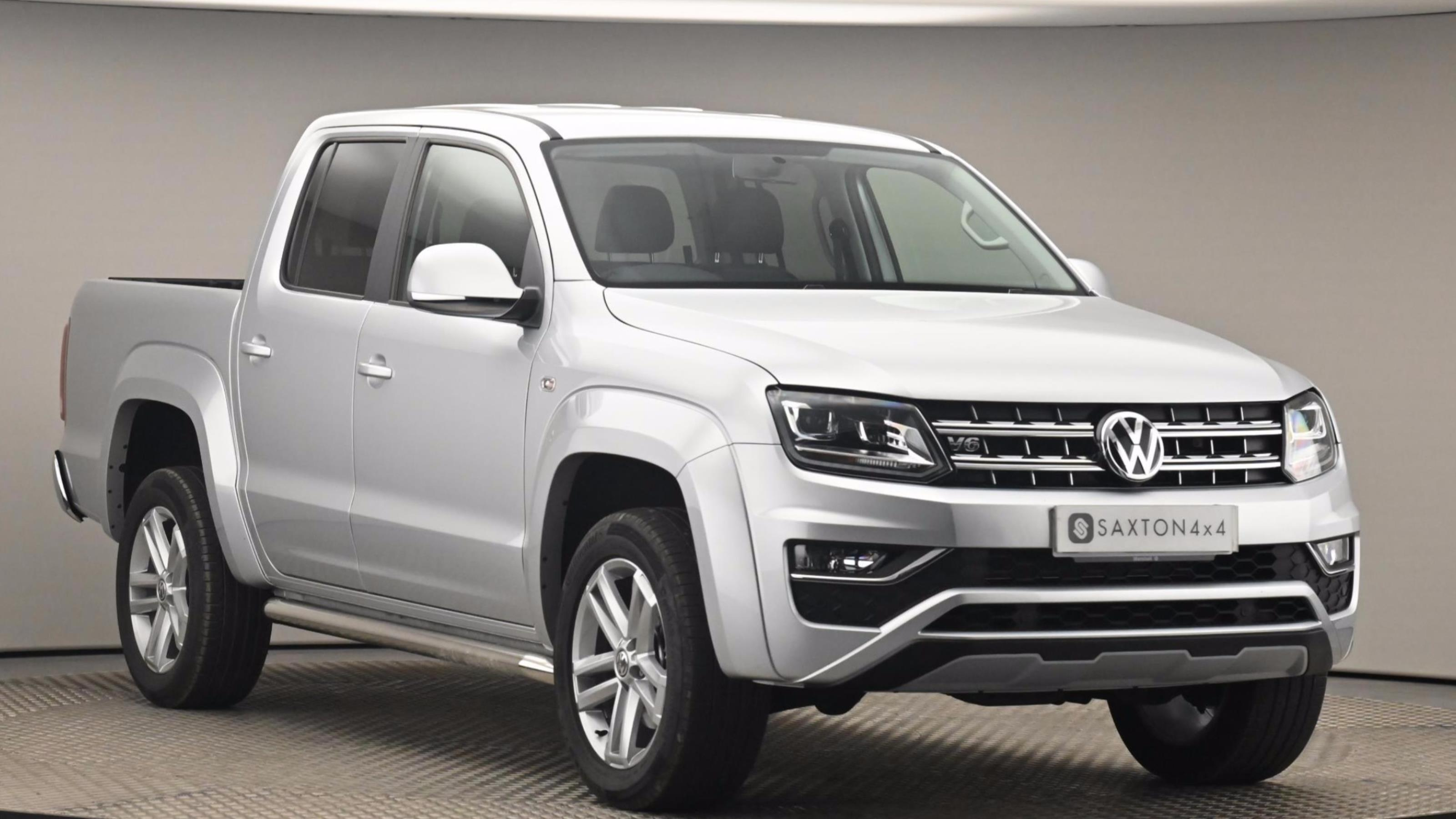 Used 19 VOLKSWAGEN AMAROK  A33  D/Cab Pick Up Highline 3.0 V6 TDI 204 BMT 4M Auto SILVER at Saxton4x4