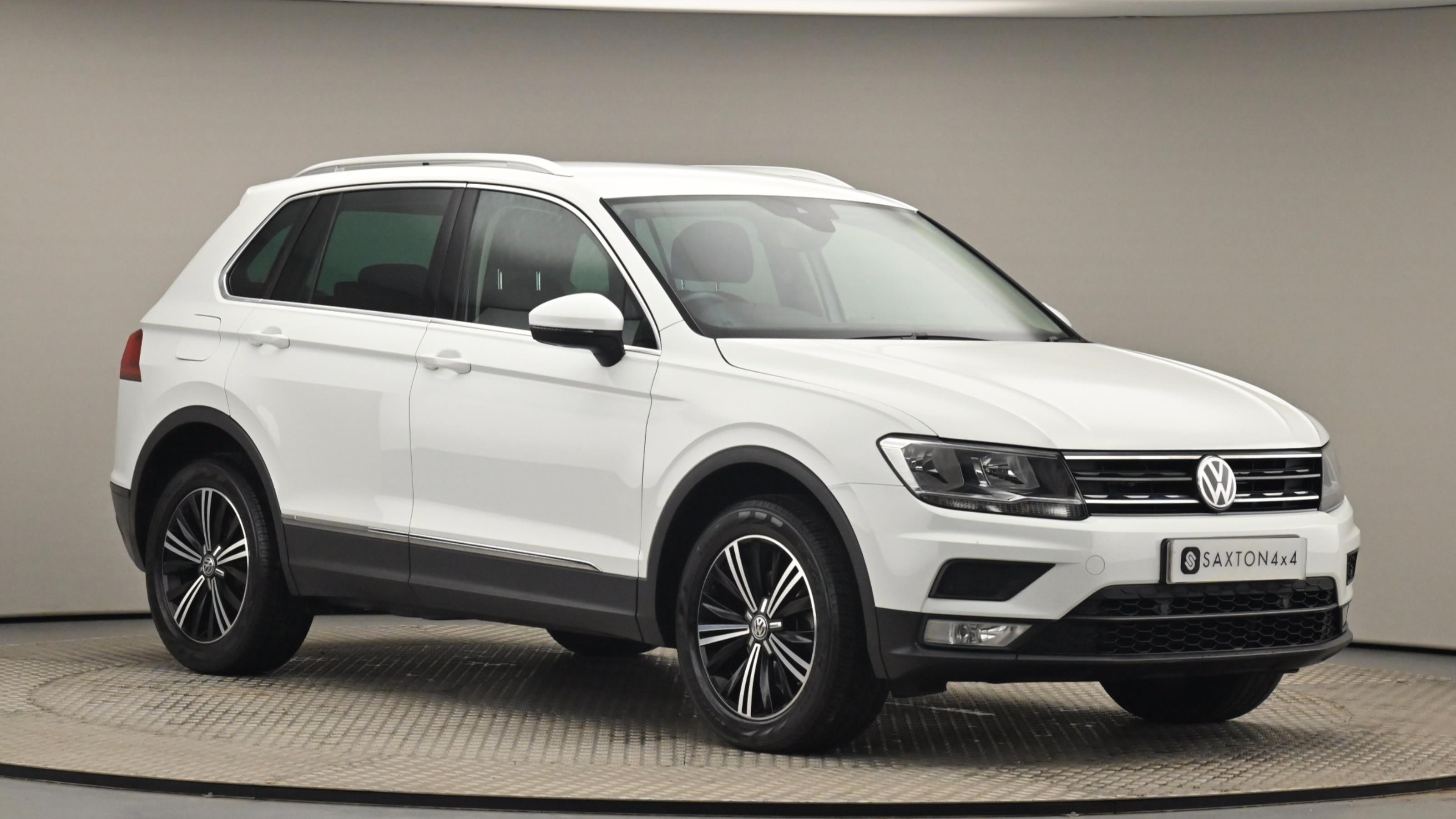 Used 2016 Volkswagen TIGUAN 2.0 TDi 150 4Motion SE 5dr DSG WHITE at Saxton4x4