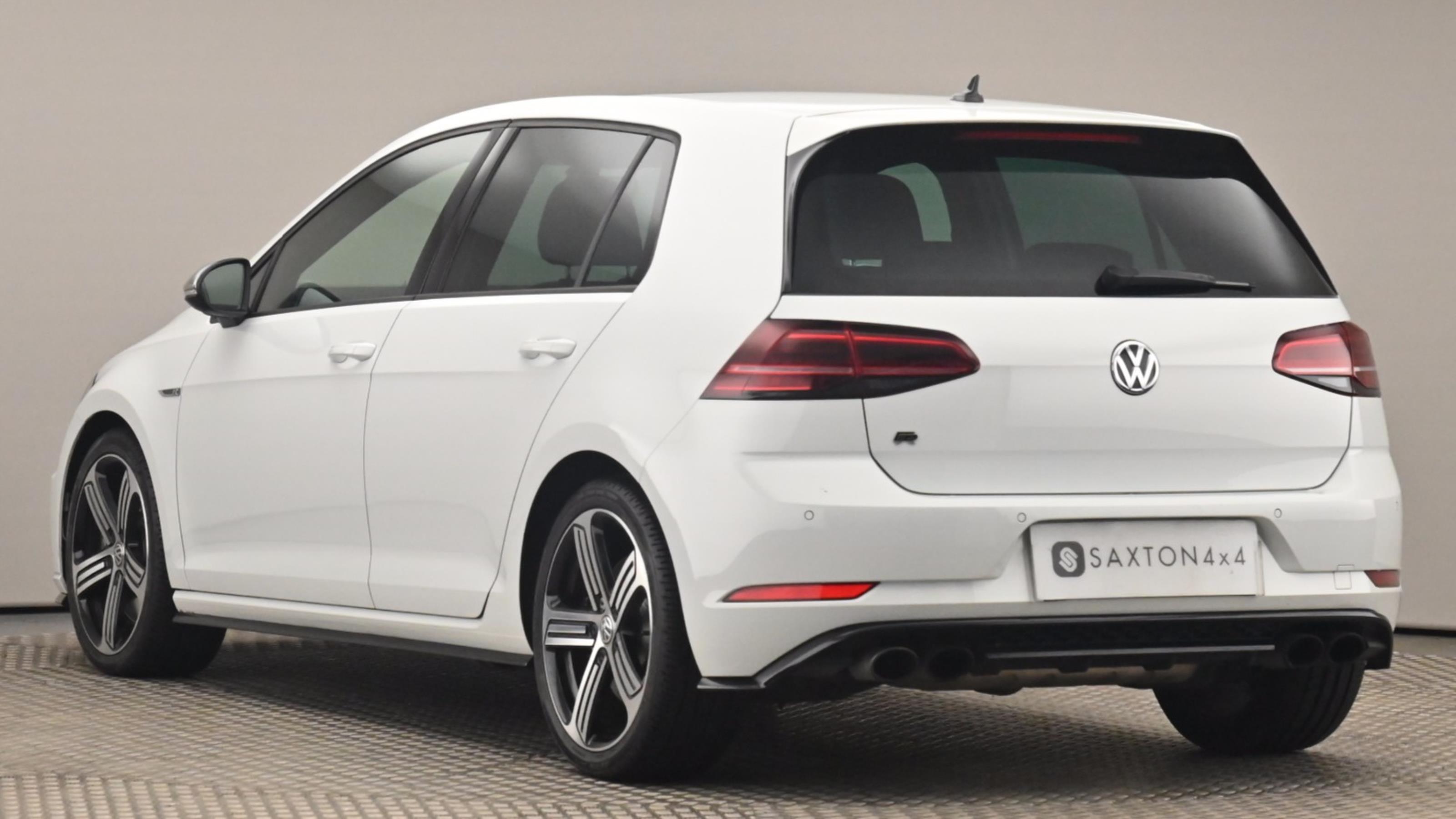 Used 2018 Volkswagen GOLF 2.0 TSI 310 R 5dr 4MOTION DSG White at Saxton4x4