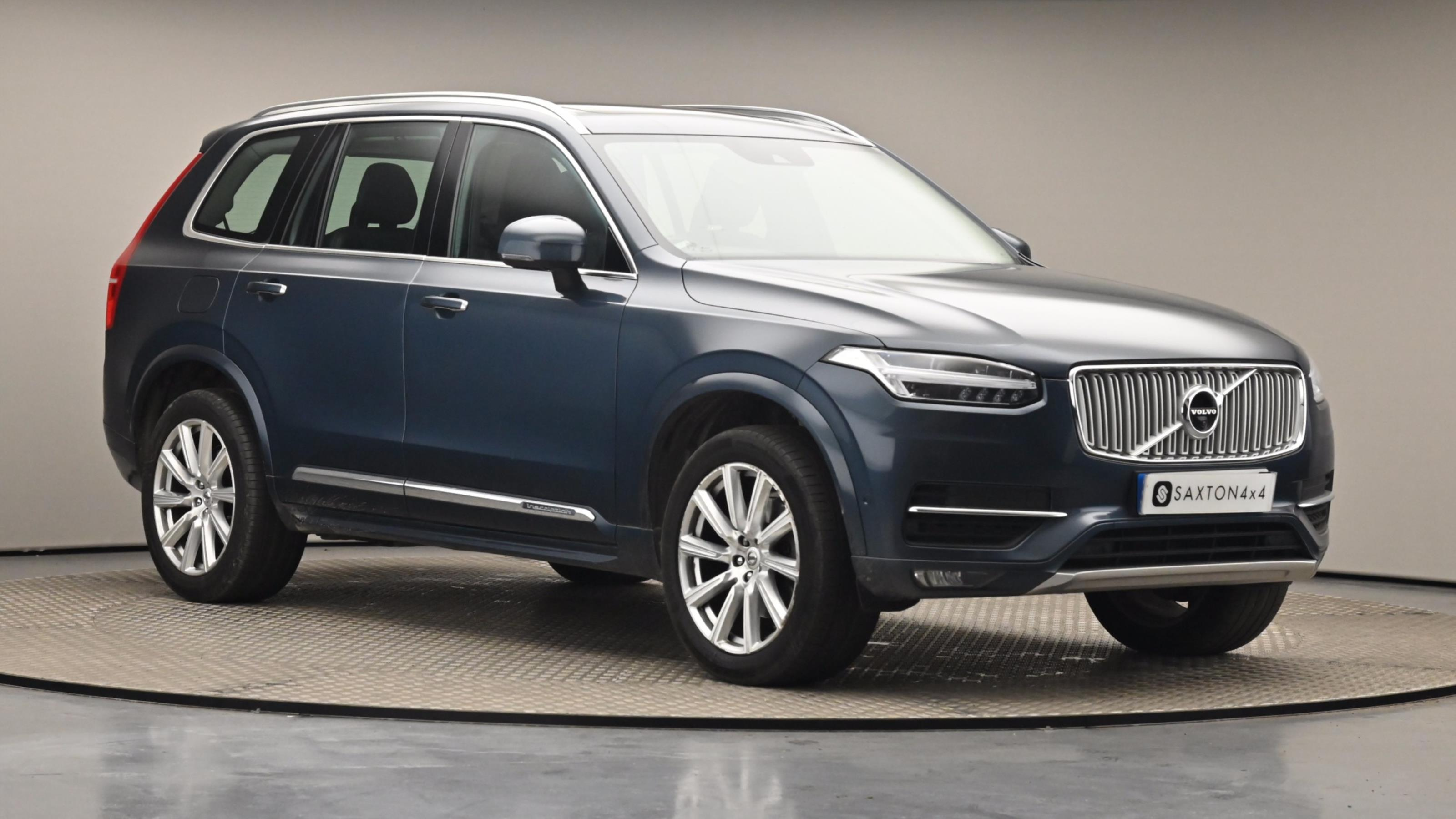 Used 2017 Volvo XC90 2.0 D5 PowerPulse Inscription Pro 5dr AWD G tronic BLUE at Saxton4x4
