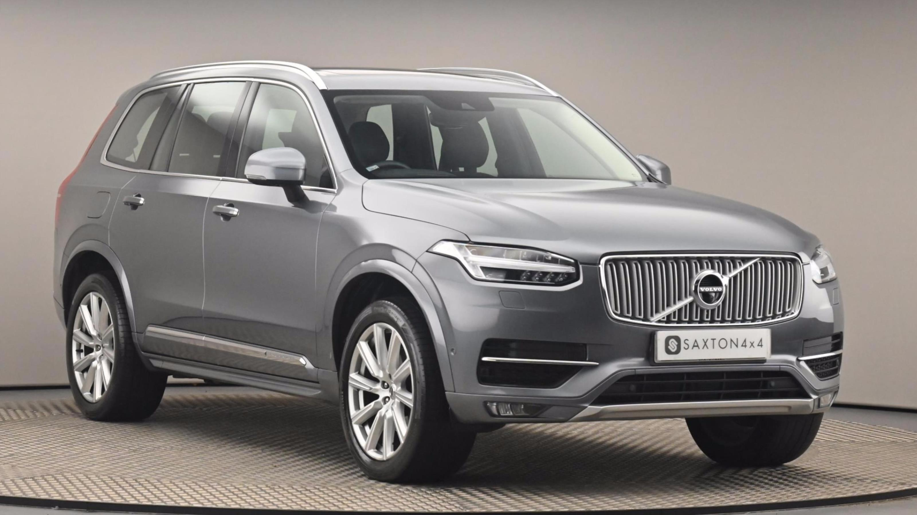 Used 2016 Volvo XC90 2.0 T6 Inscription 5dr AWD Geartronic GREY at Saxton4x4