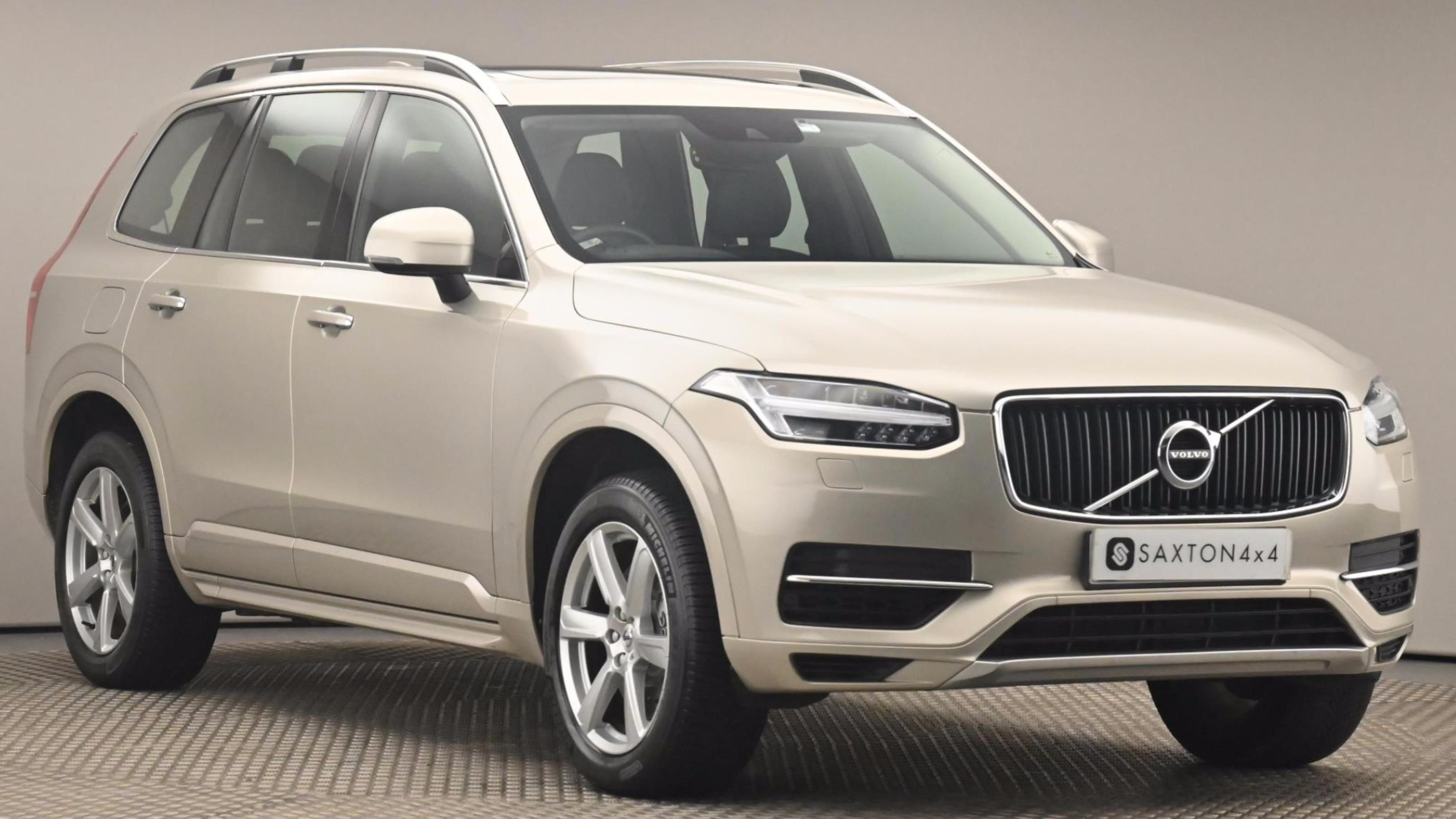 Used 2016 Volvo XC90 2.0 T8 Hybrid Momentum 5dr Geartronic GOLD at Saxton4x4