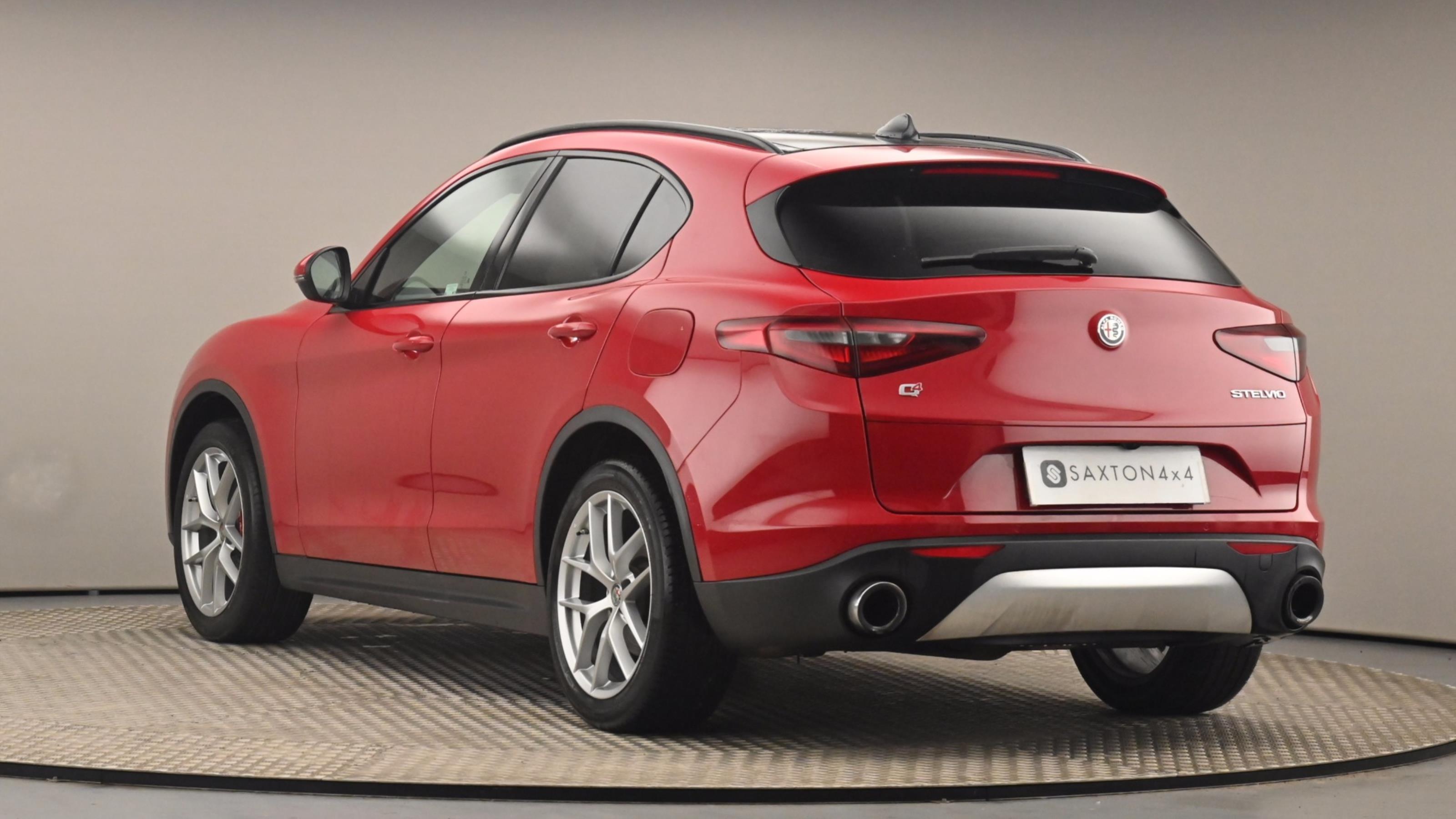 Used 2018 Alfa Romeo STELVIO 2.0 Turbo 280 Milano 5dr Auto RED at Saxton4x4
